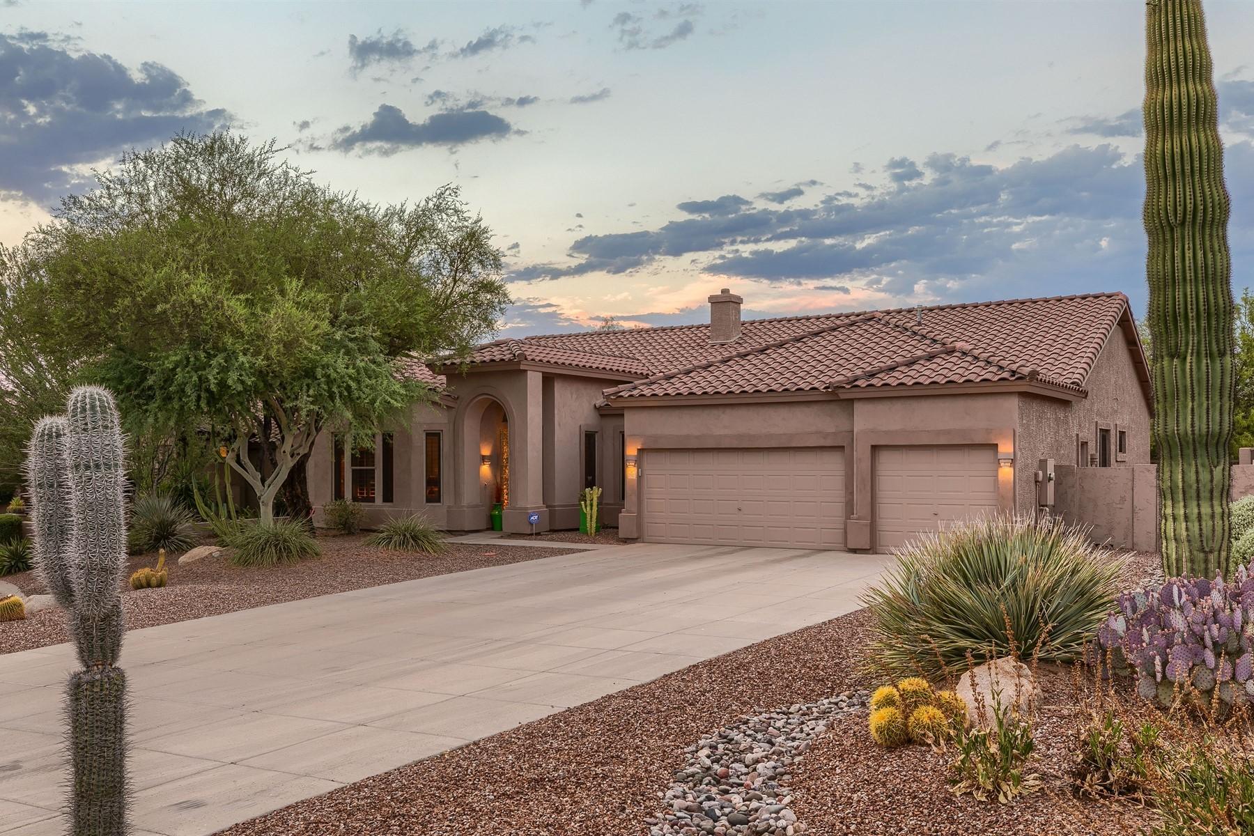 Single Family Homes por un Venta en Las Sendas 7512 E Torrey Point Cir Mesa, Arizona 85207 Estados Unidos