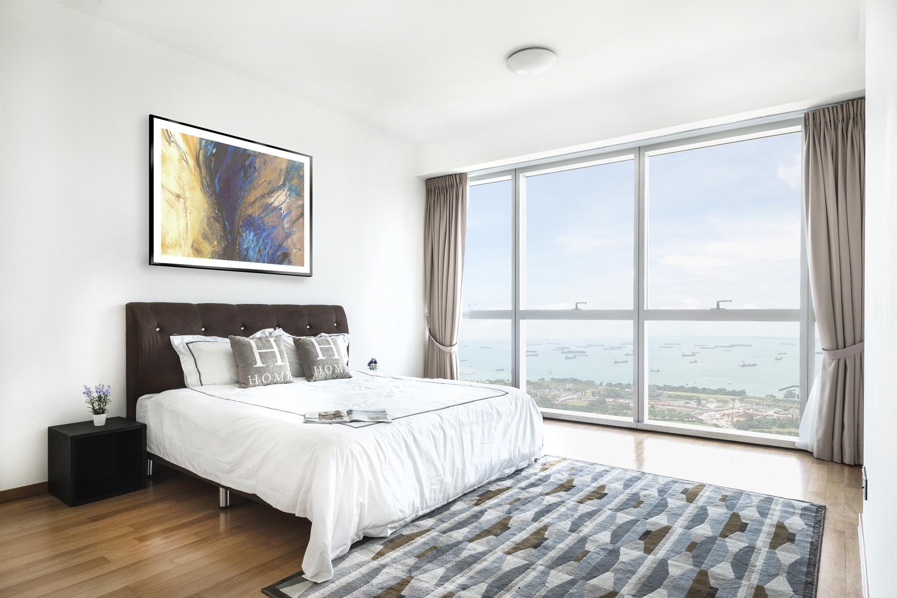 Additional photo for property listing at Marina Bay Residences - Duplex Penthouse 18 Marina Boulevard Marina Bay Residences Singapore, Cities In Singapore 018980 Singapore