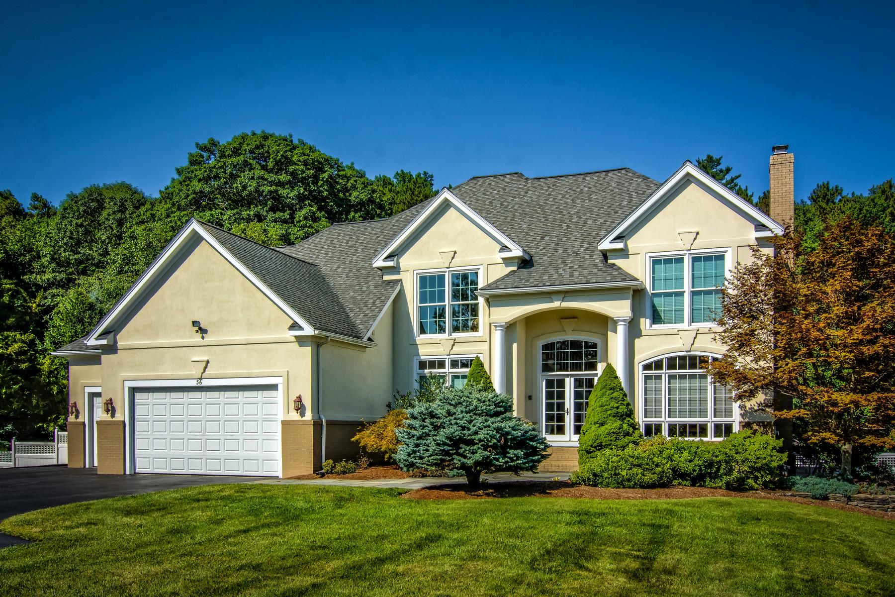 Villa per Vendita alle ore Exquisite Custom Colonial 36 Pine Hill Rd, Southborough, Massachusetts, 01772 Stati Uniti