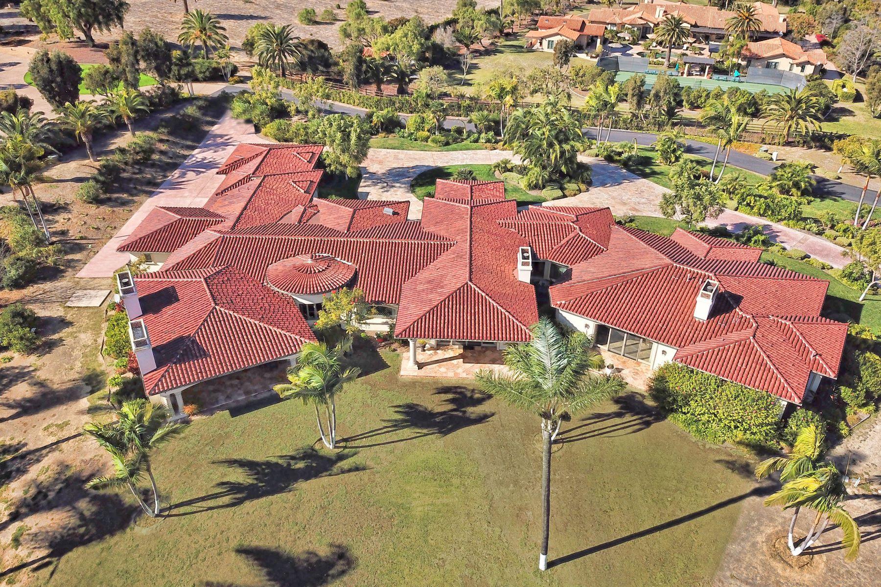 Single Family Home for Sale at 6625 Lago Lindo 6625 Lago Lindo Rancho Santa Fe, California 92067 United States