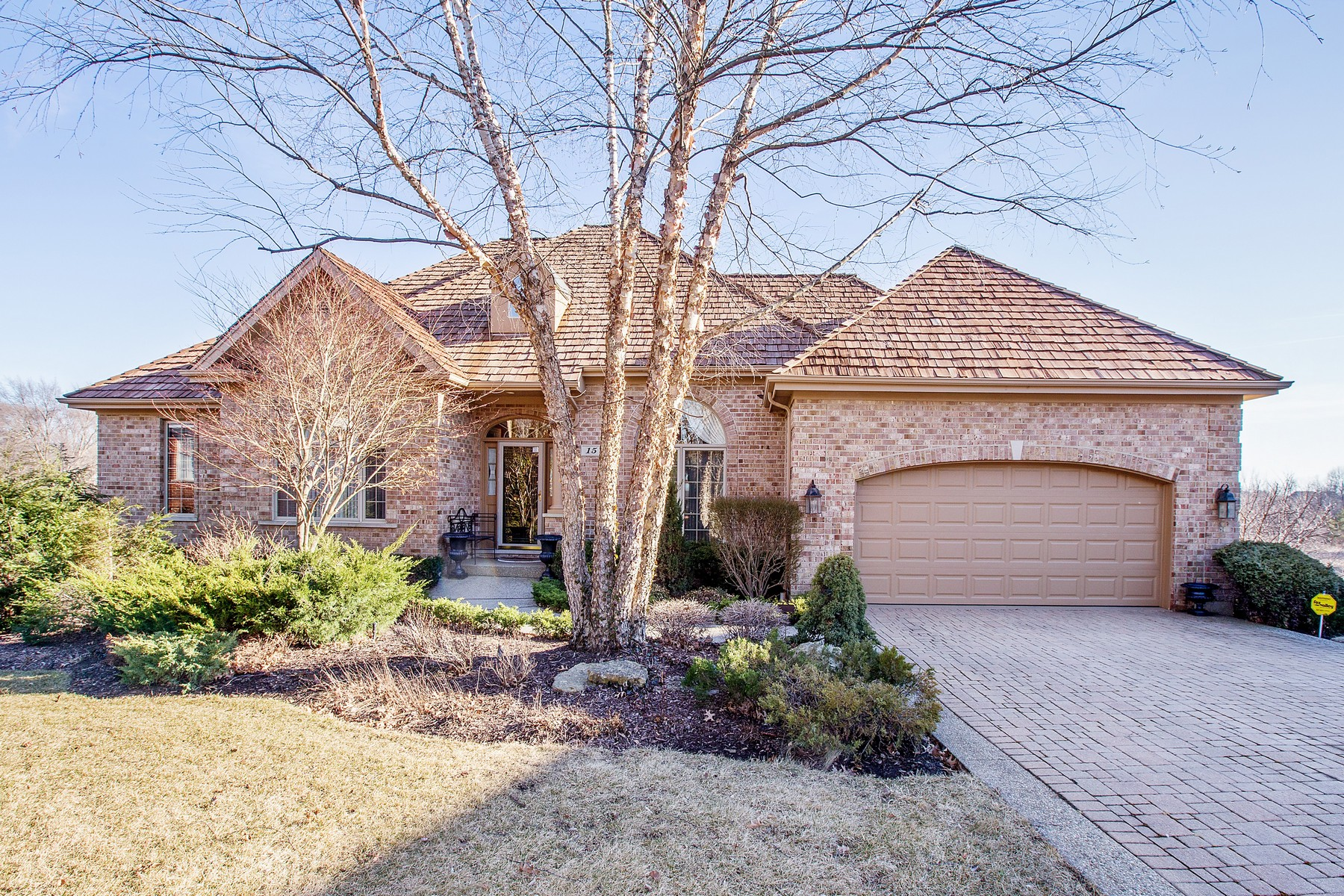 Single Family Home for Sale at Spectacular Custom Brick Ranch 15 Lochbrook Lane Inverness, Illinois, 60010 United States