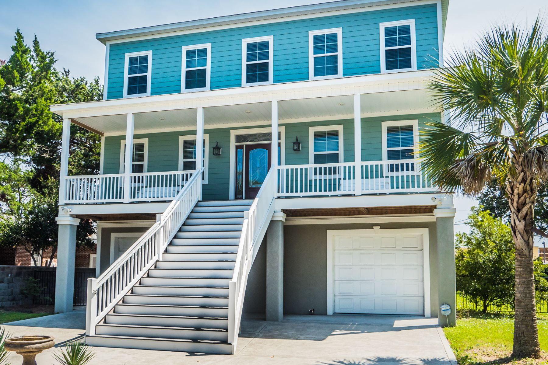 Single Family Home for Sale at Spectacular Raised Beach Home 1421 Holly Drive North Myrtle Beach, South Carolina, 29582 United States
