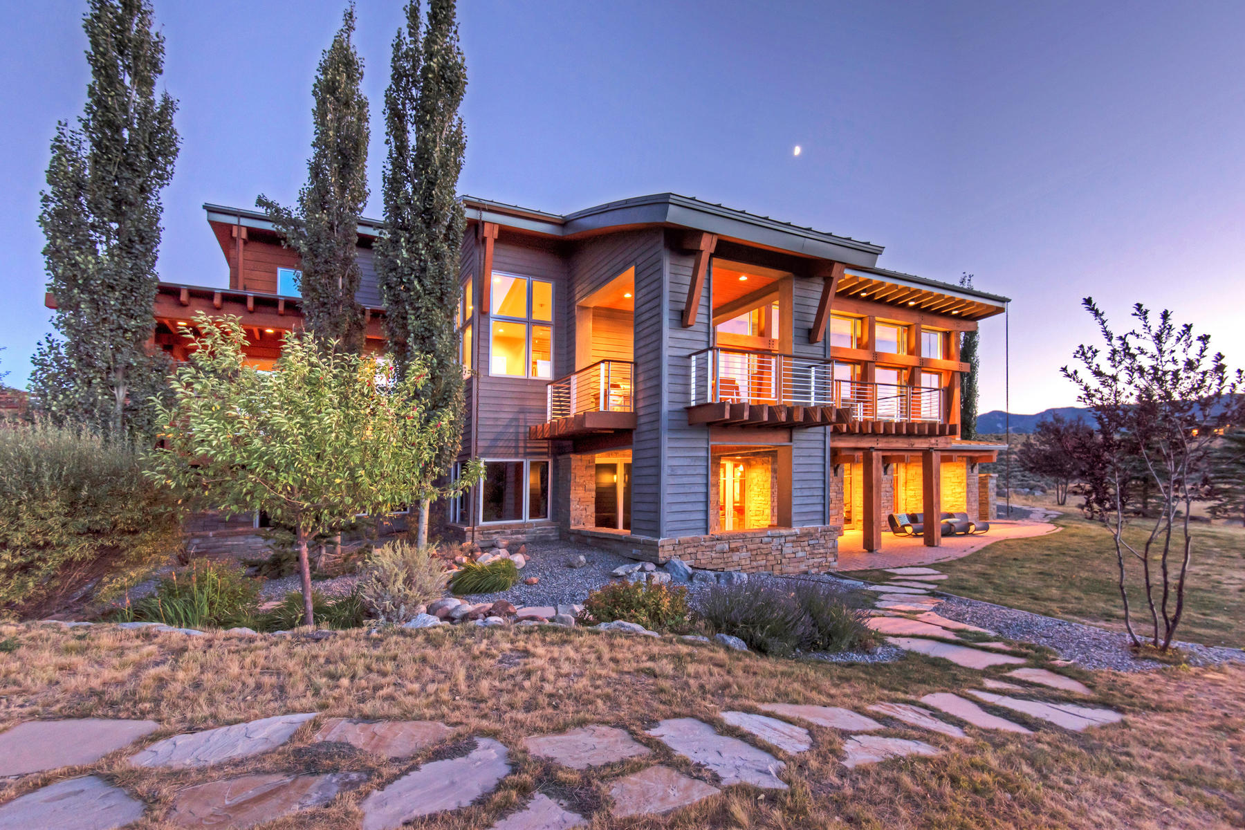 Vivienda unifamiliar por un Venta en Contemporary Glenwild Dream Home 575 Mountain Holly Rd Park City, Utah, 84098 Estados Unidos