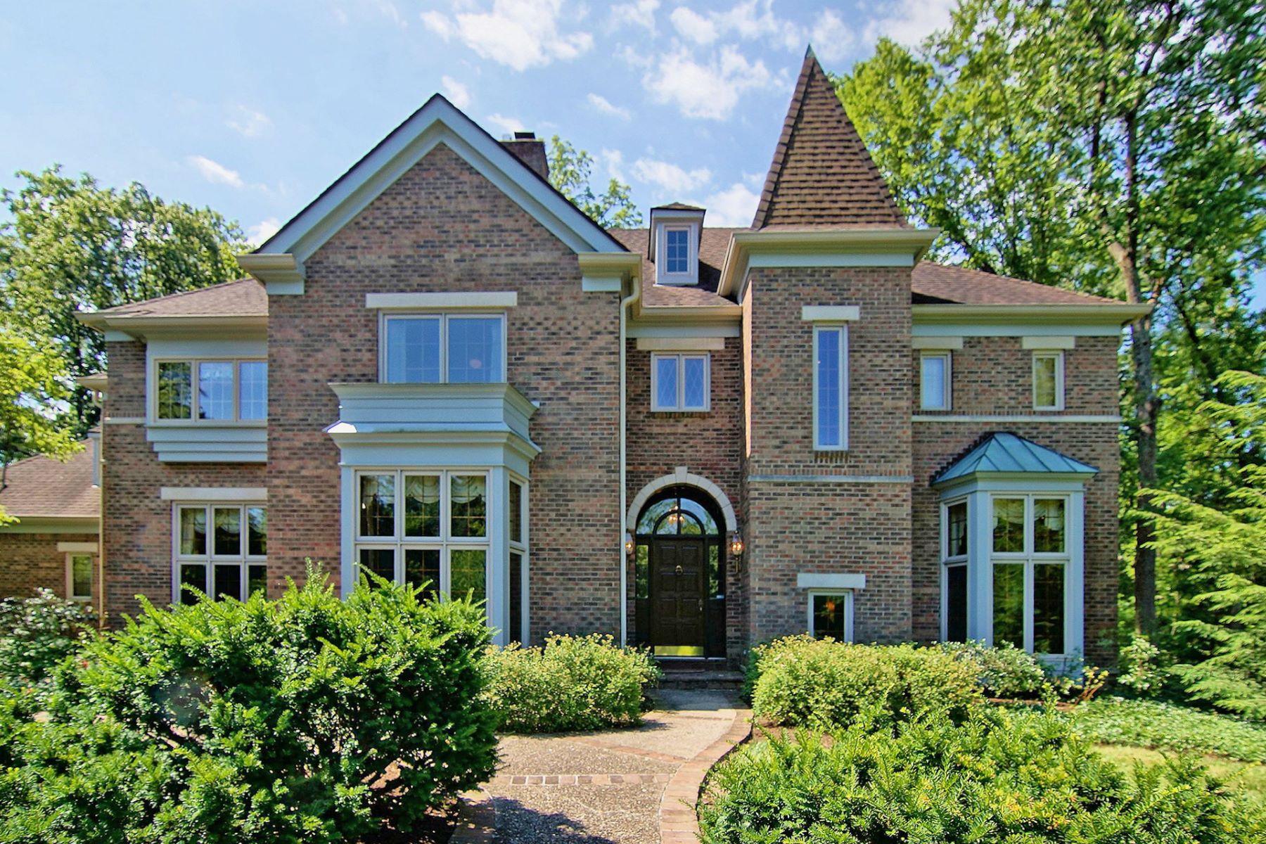 Maison unifamiliale pour l à vendre à European style Chateau 7357 Eastborne Rd, Cincinnati, Ohio, 45255 États-Unis