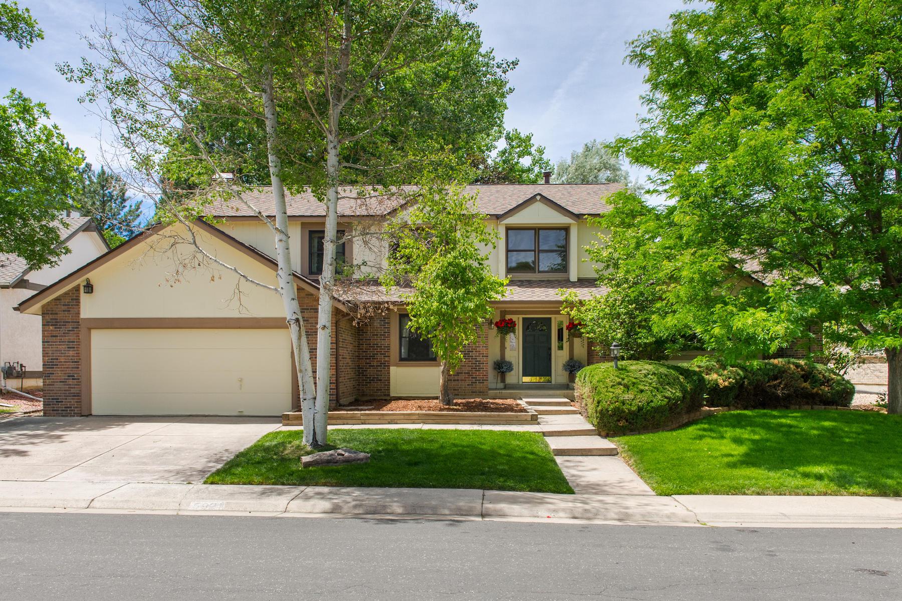 一戸建て のために 売買 アット 5921 South Akron Way Greenwood Village, コロラド, 80111 アメリカ合衆国