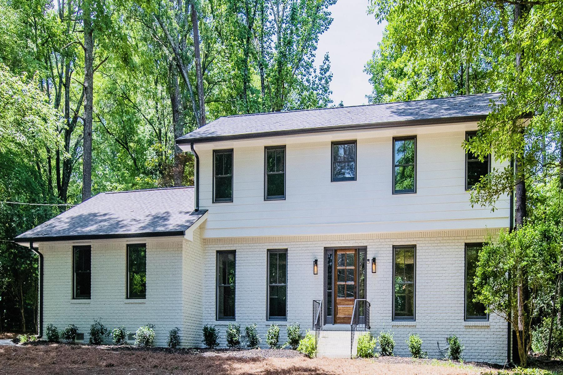 Single Family Homes для того Продажа на Modern/Rustic Renovation Close to Austin Elementary 1187 Verdon Dr, Dunwoody, Джорджия 30338 Соединенные Штаты