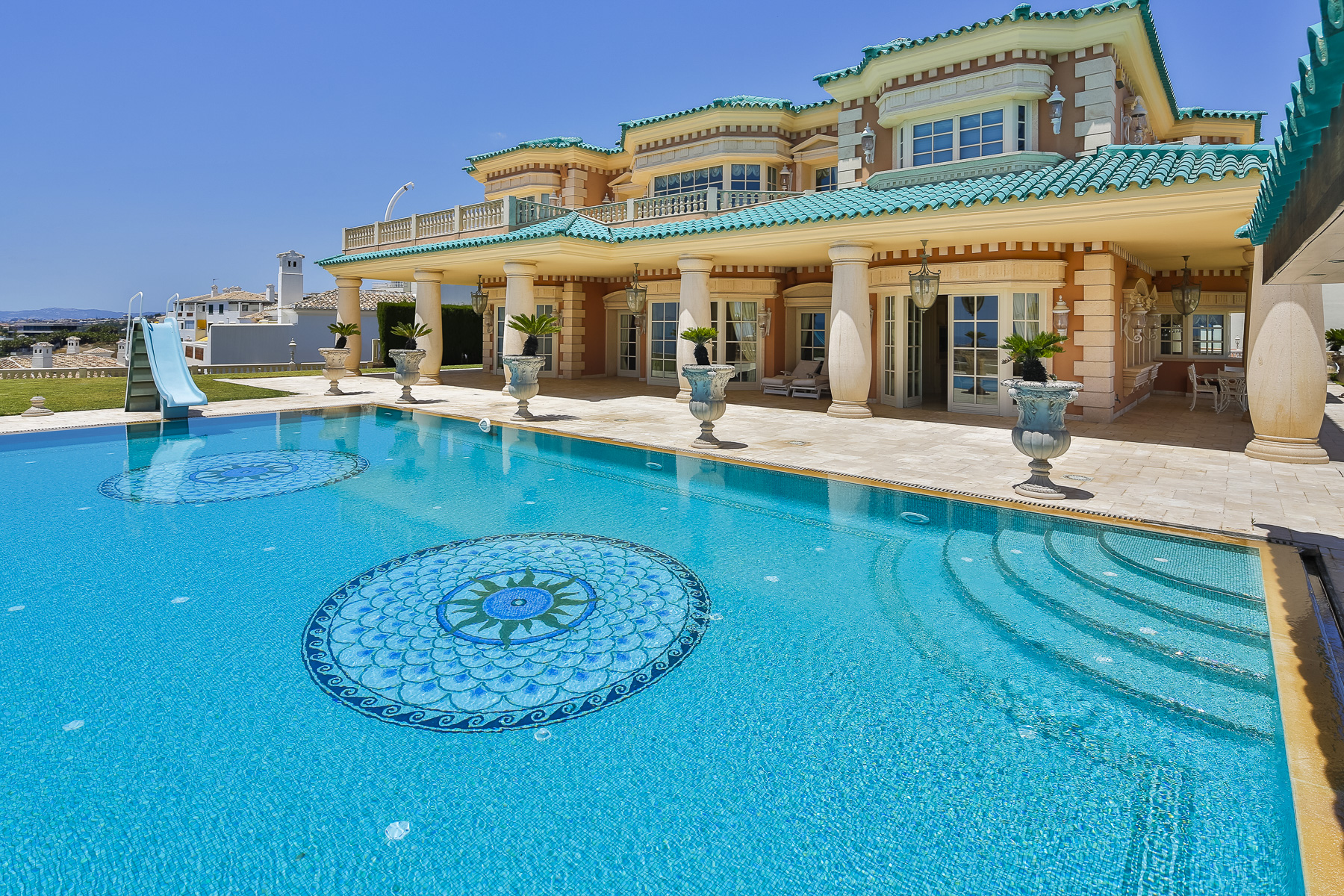 Single Family Home for Sale at Stunning villa with fabulous views over entire coastline Benalmadena, Andalucia, Spain