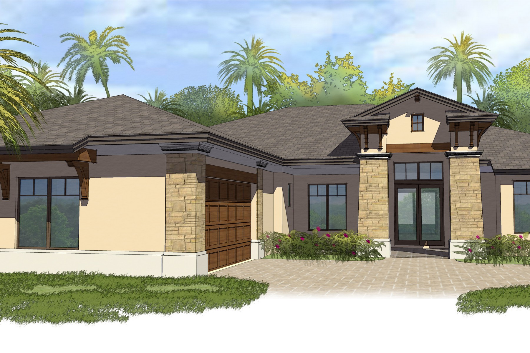 一戸建て のために 売買 アット Luxury New Home in the Reserve at Grand Harbor 2373 Grand Harbor Reserve Square Vero Beach, フロリダ 32967 アメリカ