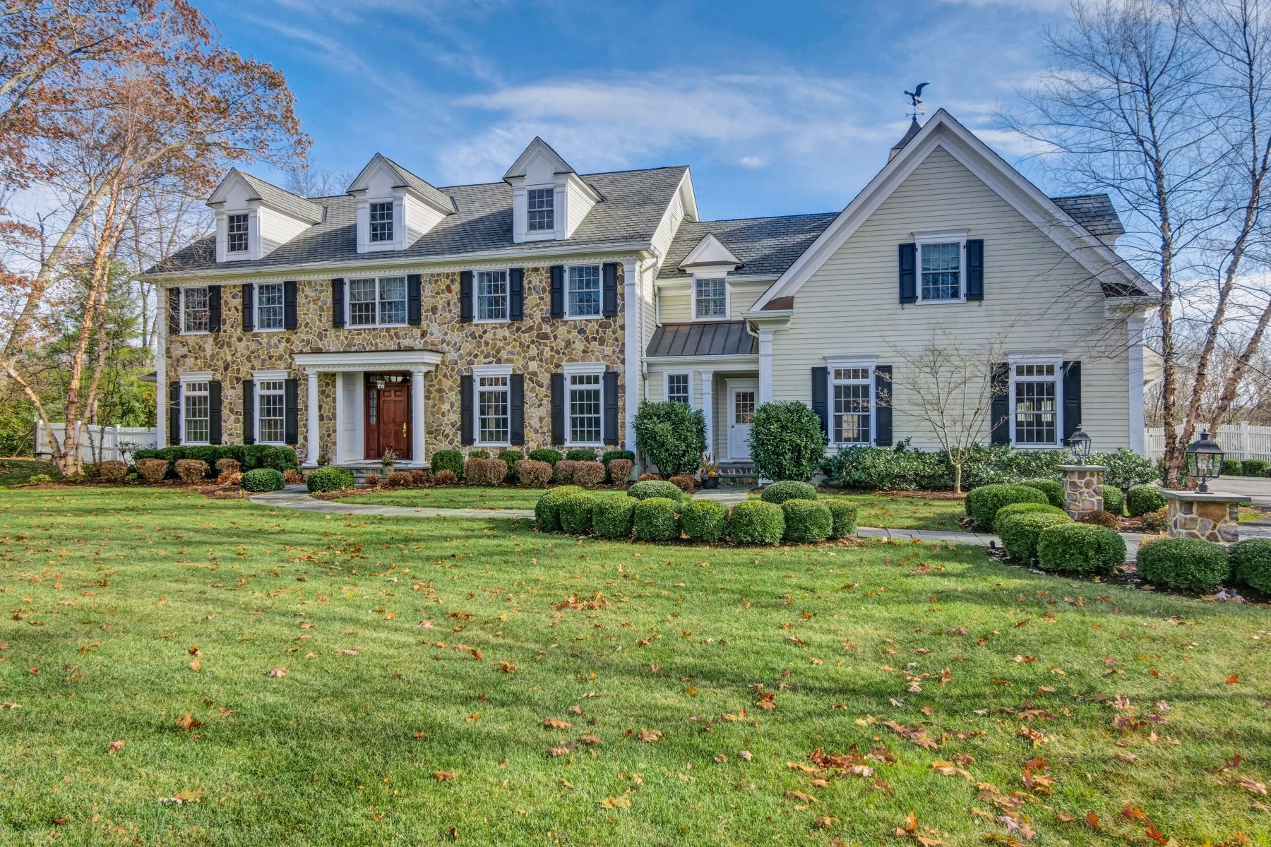 Single Family Homes for Sale at Tranquility and convenience 137 Lees Hill Road Harding Township, New Jersey 07976 United States