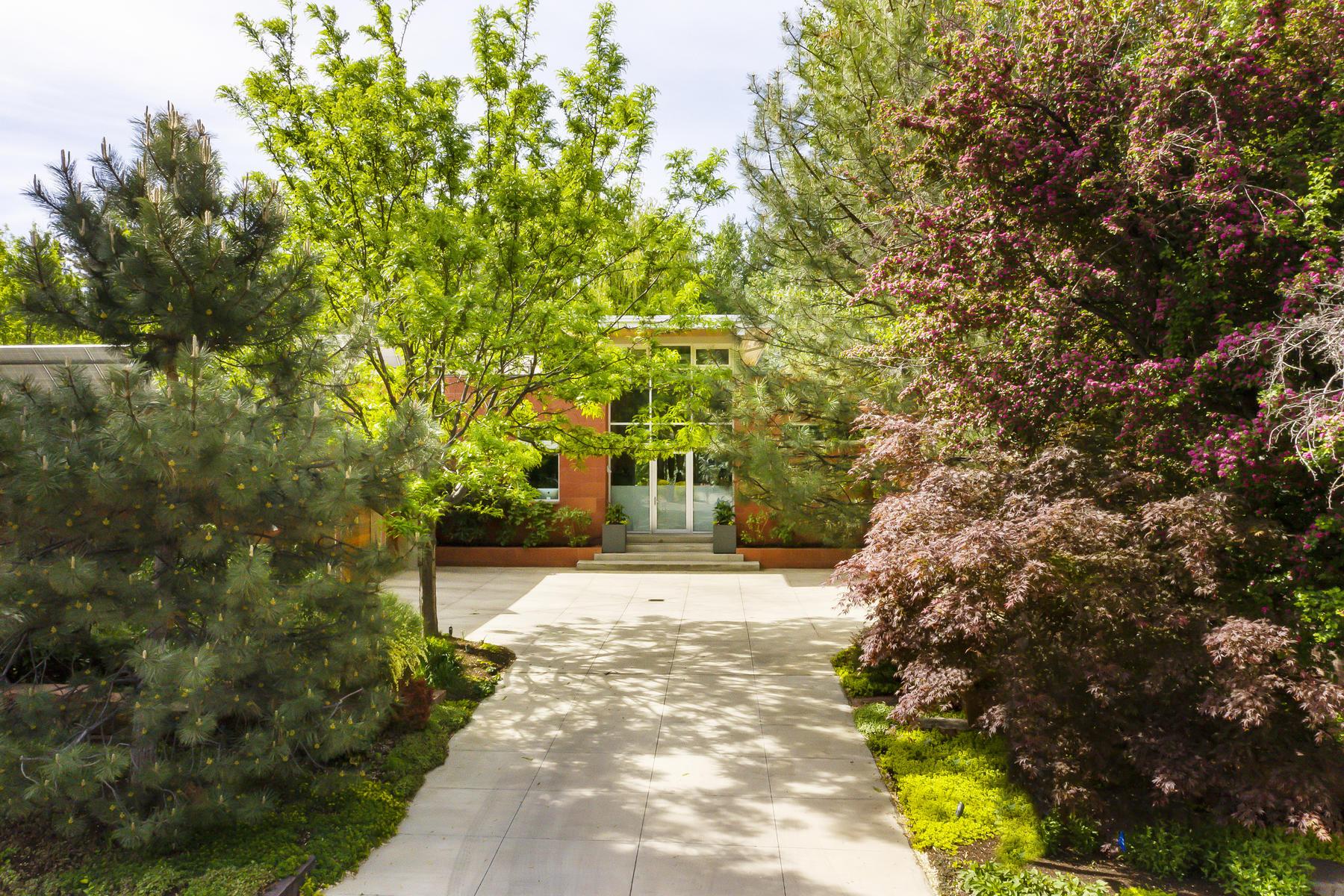 Single Family Homes 용 매매 에 Contemporary Millcreek Masterpiece 1762 E Millcreek Way Salt Lake City, 유타 84106 미국