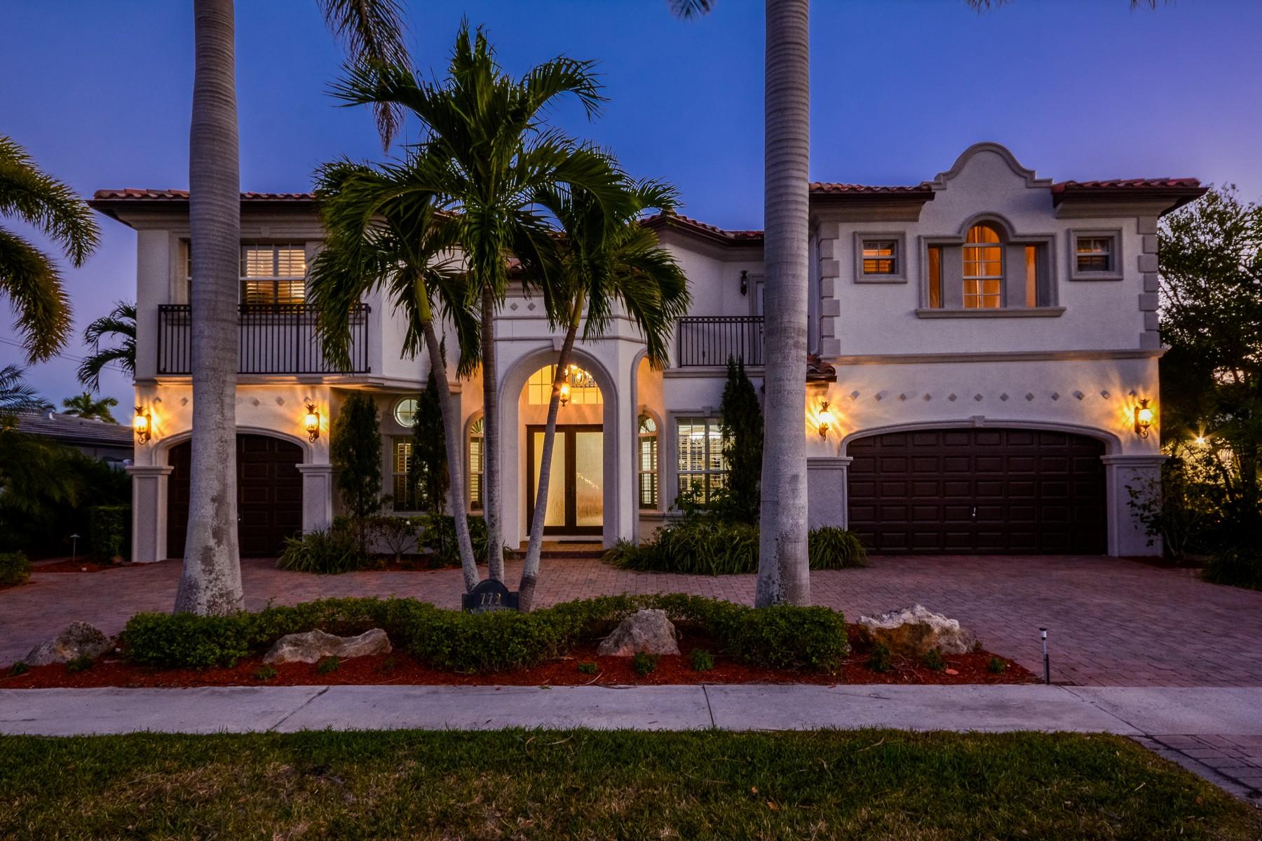 Casa para uma família para Venda às 772 NE 71st St , Boca Raton, FL 33487 Boca Raton, Florida, 33487 Estados Unidos