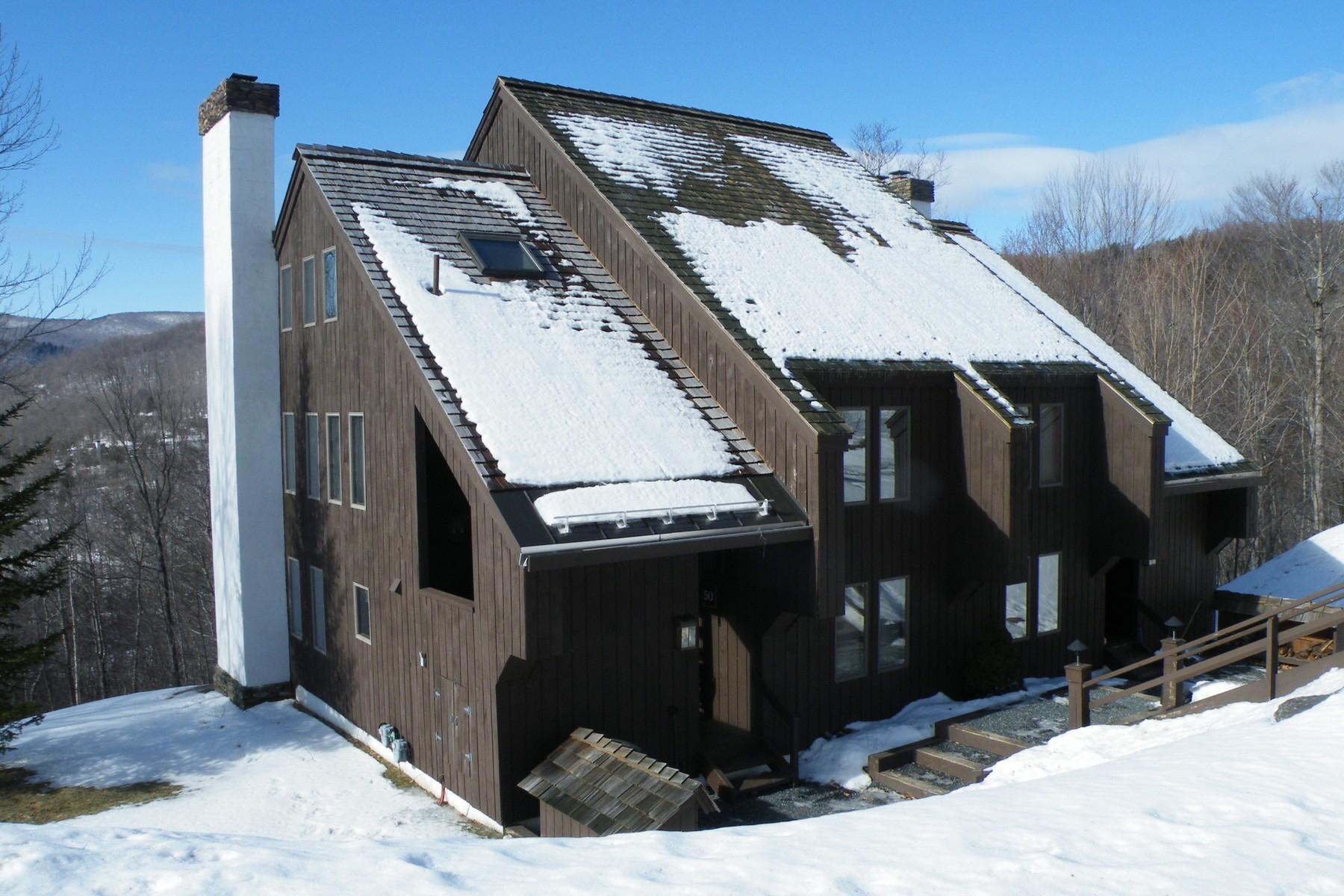 Appartement en copropriété pour l à vendre à Bi-Level - Three Bedroom Condominium 145 Blueberry Ledge Ridge 49, Plymouth, Vermont, 05056 États-Unis