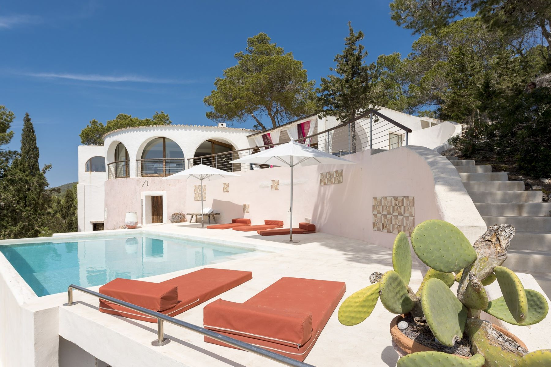 Single Family Home for Rent at Villa With Spectacular Sea Views San Jose, Ibiza, 07820 Spain