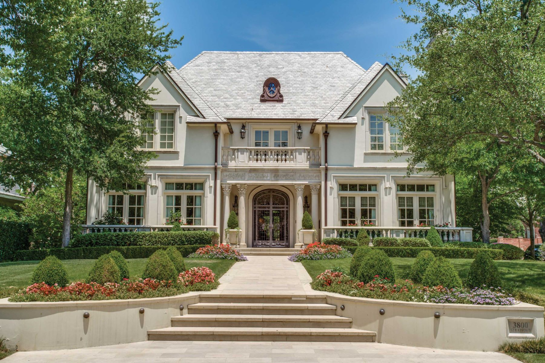 Single Family Homes for Sale at Stunning French in Highland Park 3800 Stratford Avenue Highland Park, Texas 75205 United States