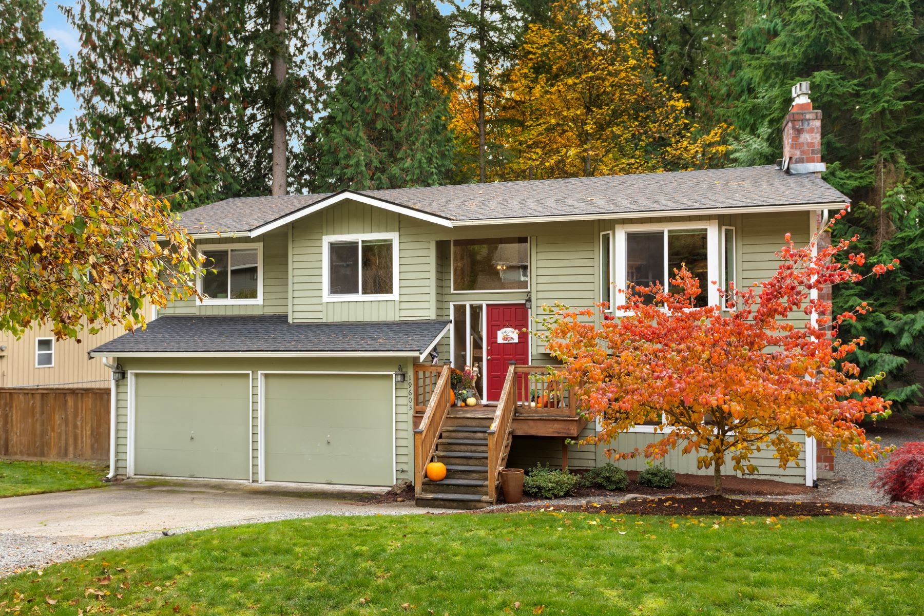 Single Family Homes for Sale at Cottage Lake Living 19603 NE 162nd Woodinville, Washington 98077 United States