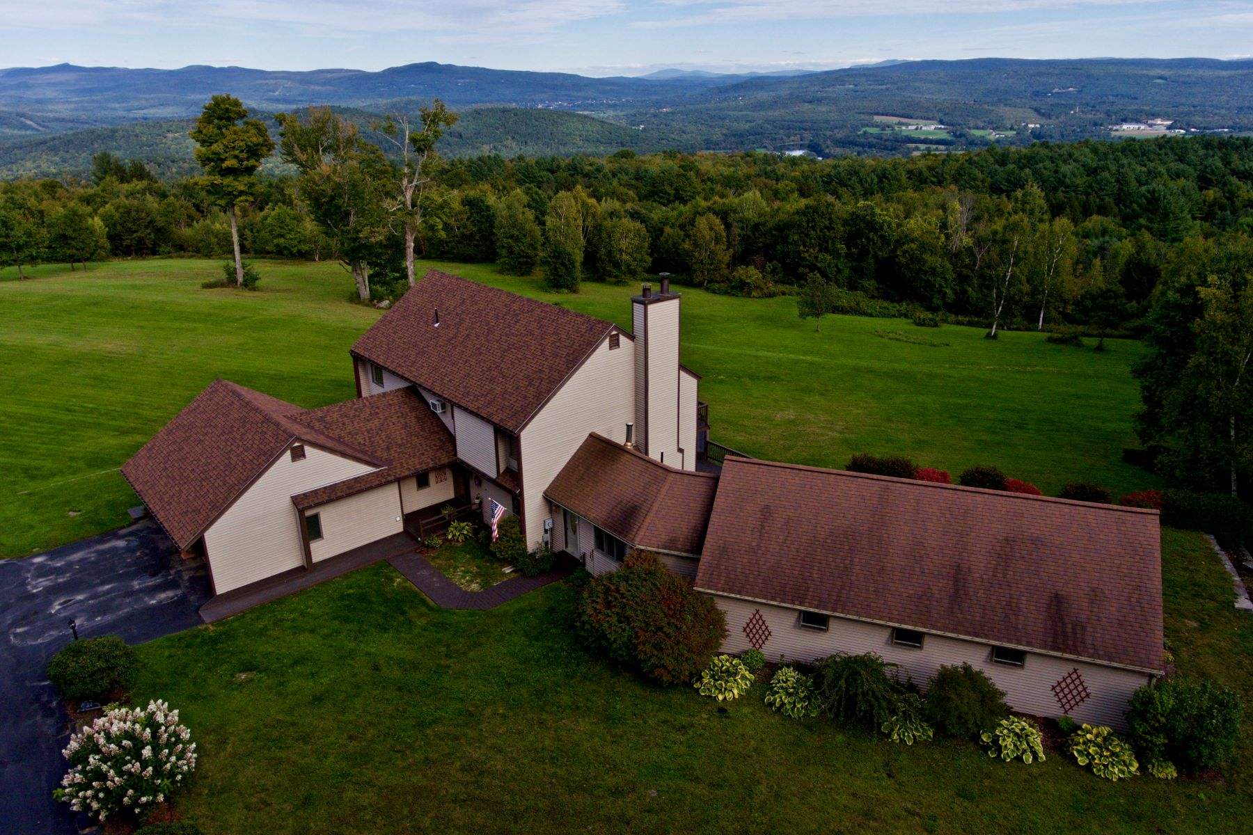 Single Family Homes for Sale at Six Bedroom Contemporary with Year Round Views 403 Divoll Pasture Rd Weathersfield, Vermont 05156 United States