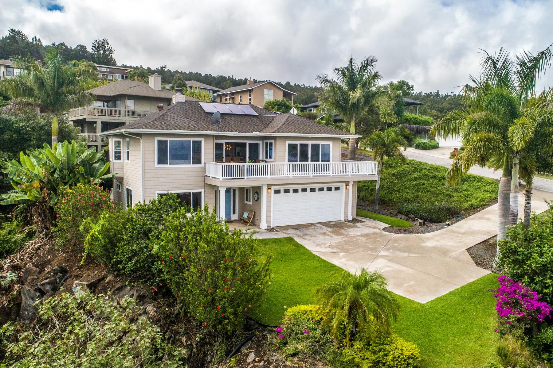 Single Family Homes for Active at Beautiful Kula View Home 206 Kulamanu Circle Kula, Hawaii 96790 United States