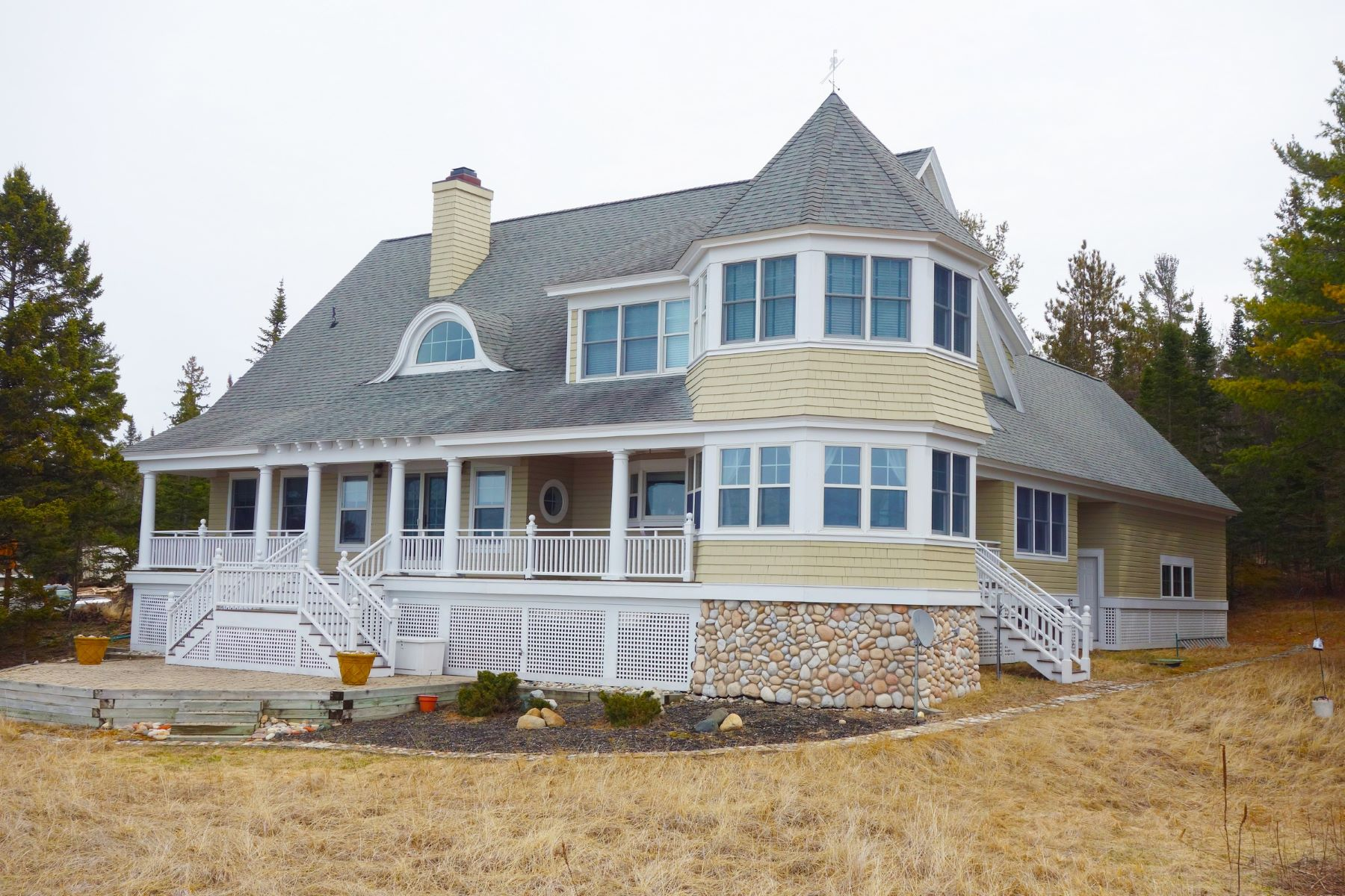 Single Family Home for Sale at Lake Michigan Beach House 8245 Sturgeon Bay Drive Harbor Springs, Michigan, 49740 United States