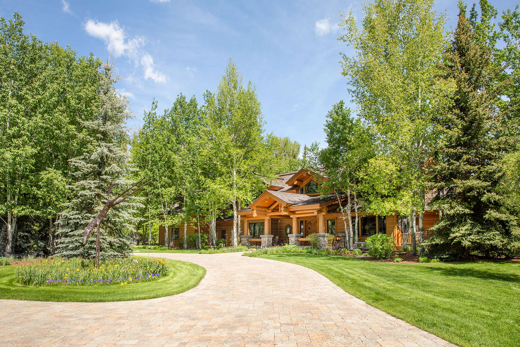 Single Family Homes for Sale at Stunning Setting in Ely Springs 1155 S Ely Springs Road Jackson, Wyoming 83001 United States