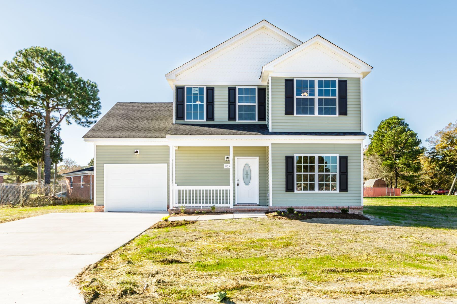 Single Family Homes por un Venta en SEWELLS GARDENS 6443 Palem Road Norfolk, Virginia 23513 Estados Unidos