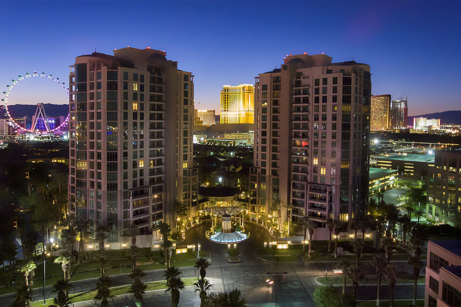 Condominiums for Active at Park Towers, Las Vegas 1 Hughes Center Drive Las Vegas, Nevada 89169 United States
