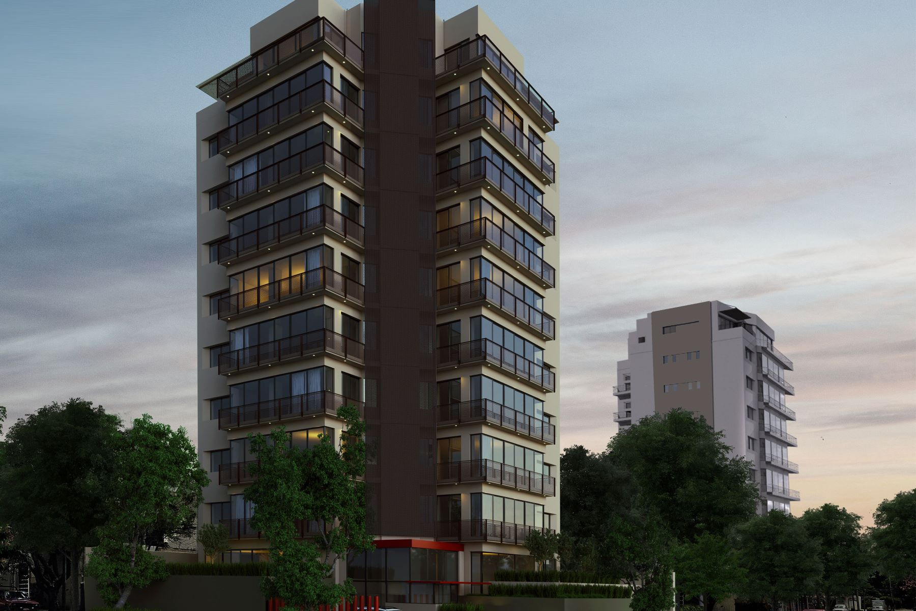 Appartement pour l Vente à North Country Tower Apartments Calle Mar Marmara 1899 Guadalajara, Jalisco, 44210 Mexique