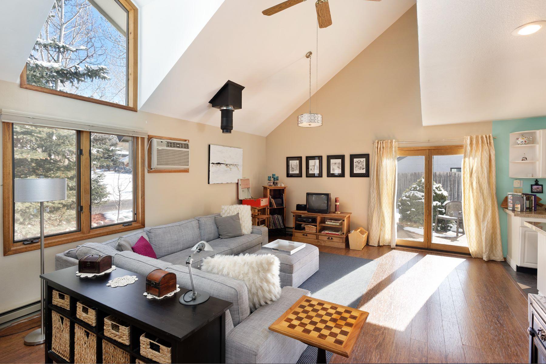 واحد منزل الأسرة للـ Sale في Elk Run Subdivision 518 Park Circle, Basalt, Colorado, 81621 United States