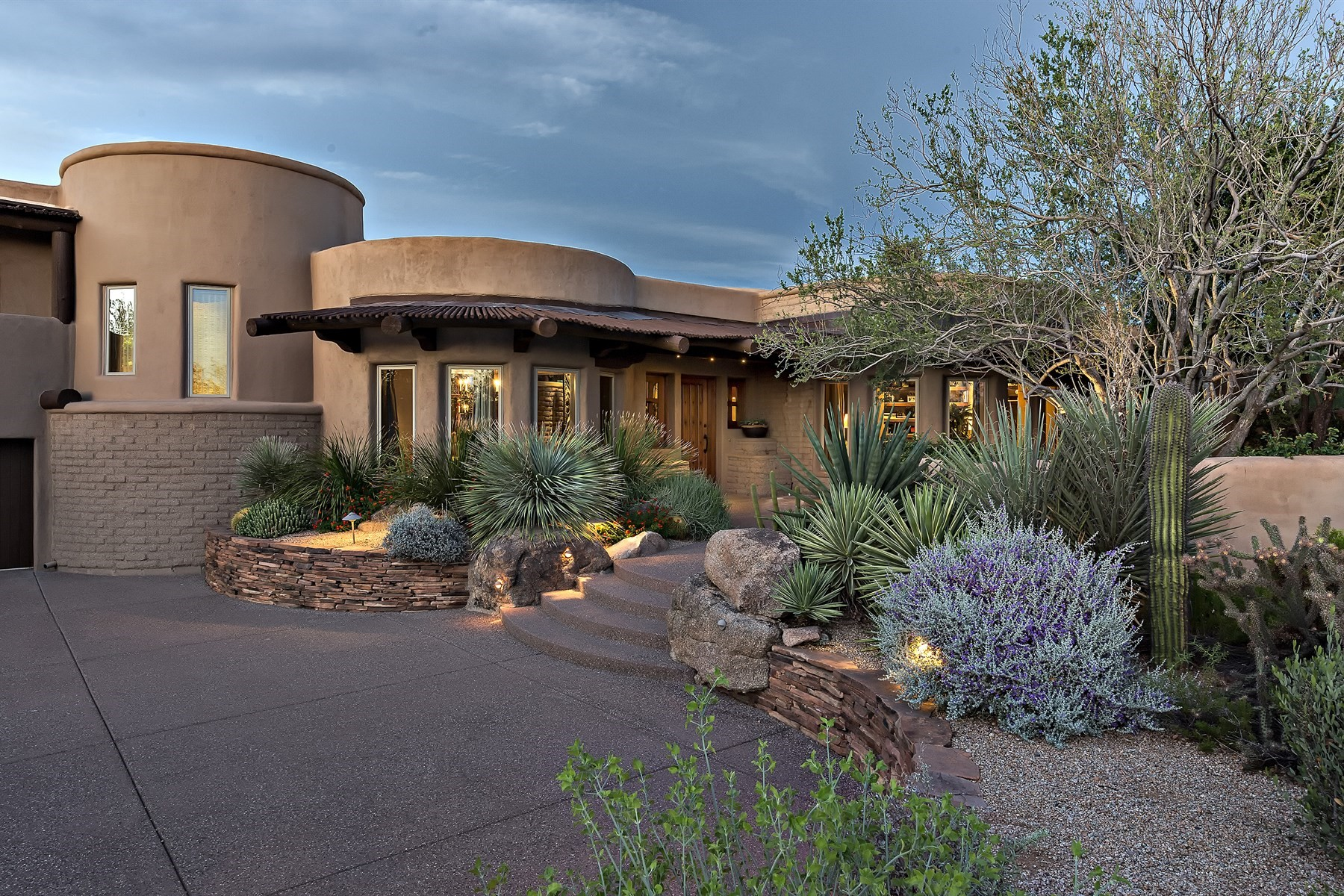 一戸建て のために 売買 アット True adobe style home overlooking the 3rd green at Estancia Golf Club 27621 N 96th Pl, Scottsdale, アリゾナ, 85262 アメリカ合衆国