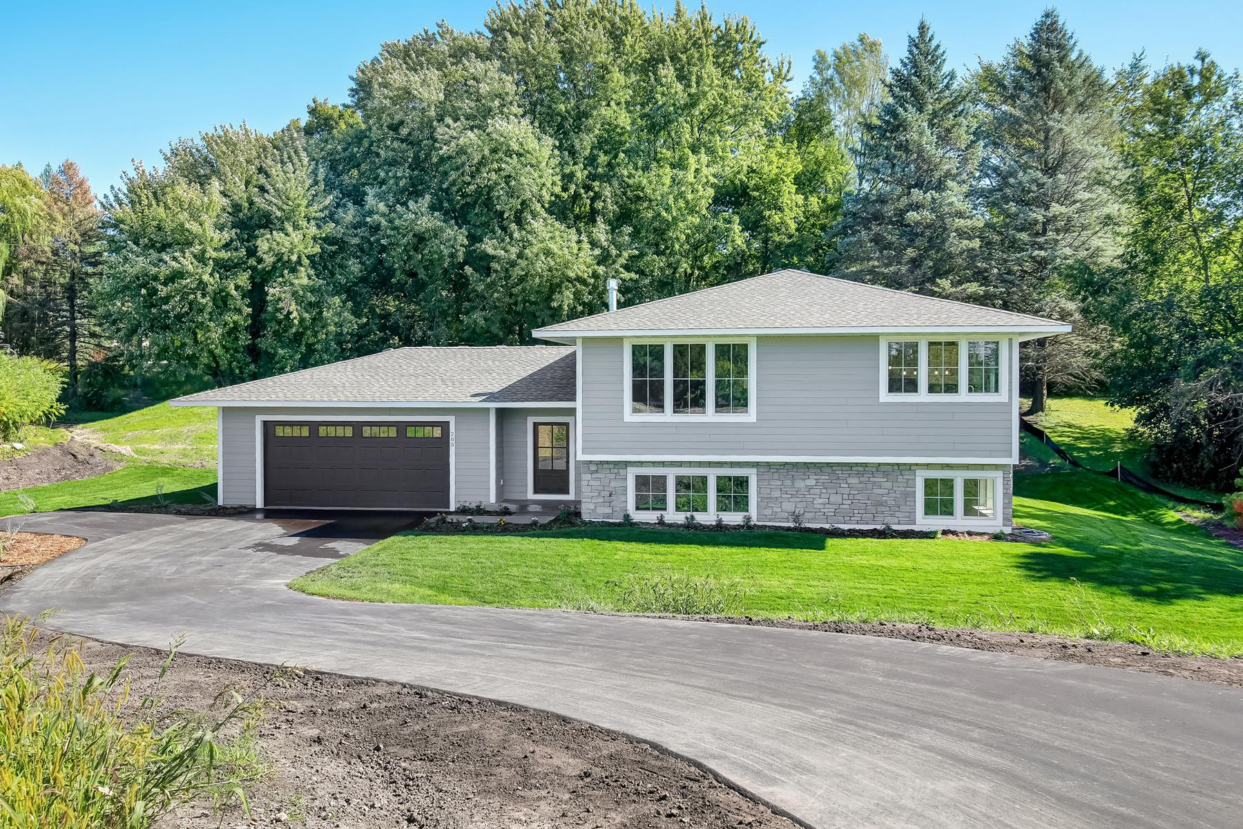 Single Family Homes for Sale at Beautiful New Construction on Private Lot in Minnetrista 205 County Road 110 North Minnetrista, Minnesota 55364 United States