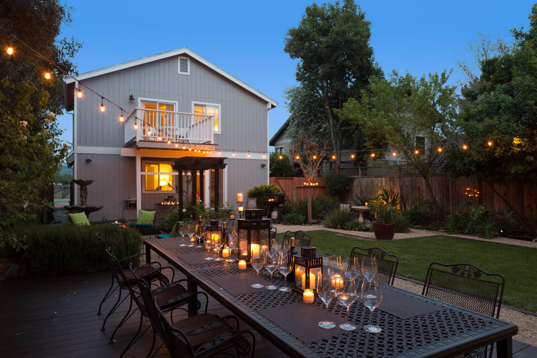 Casa Unifamiliar por un Venta en 1155 Grape Lane Rutherford, California 94573 Estados Unidos