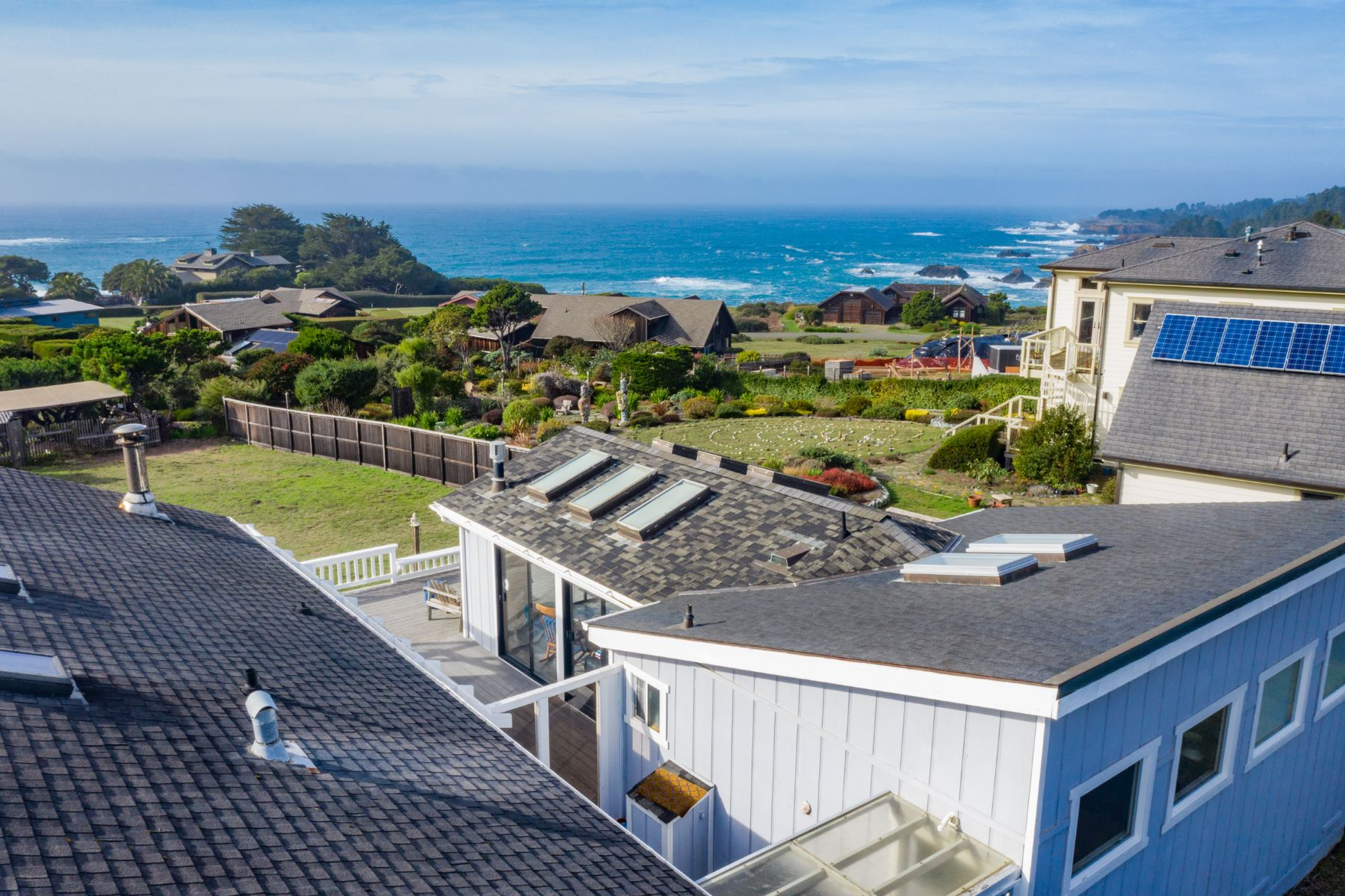 Single Family Homes for Sale at Stylishly Remodeled Home and Studio 10880 Palette Drive Mendocino, California 95460 United States