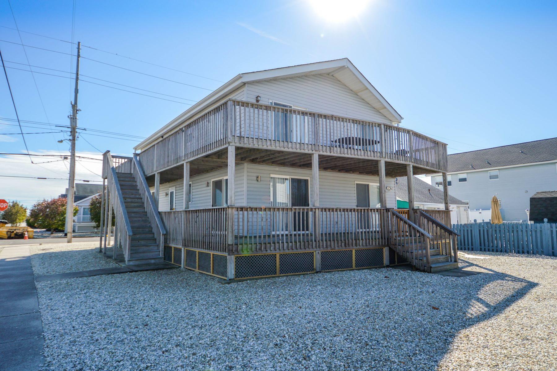 타운하우스 용 매매 에 Ocean Drive Corner Duplex 4028 Ocean Drive 2nd Floor, Avalon, 뉴저지 08202 미국