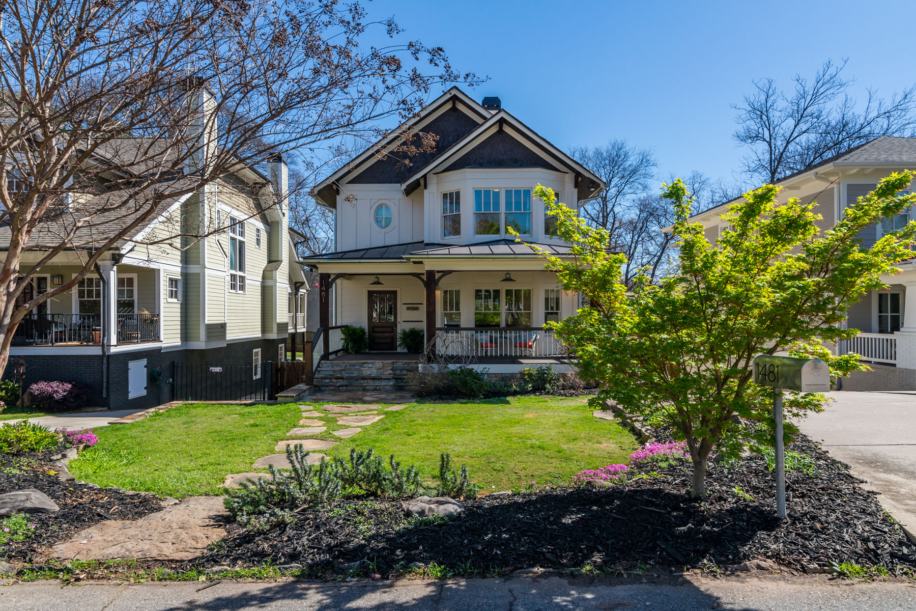 Single Family Home for Sale at Luxury Newer Construction in the Heart of the City 1481 Pine Street NW Loring Heights, Atlanta, Georgia, 30309 United States
