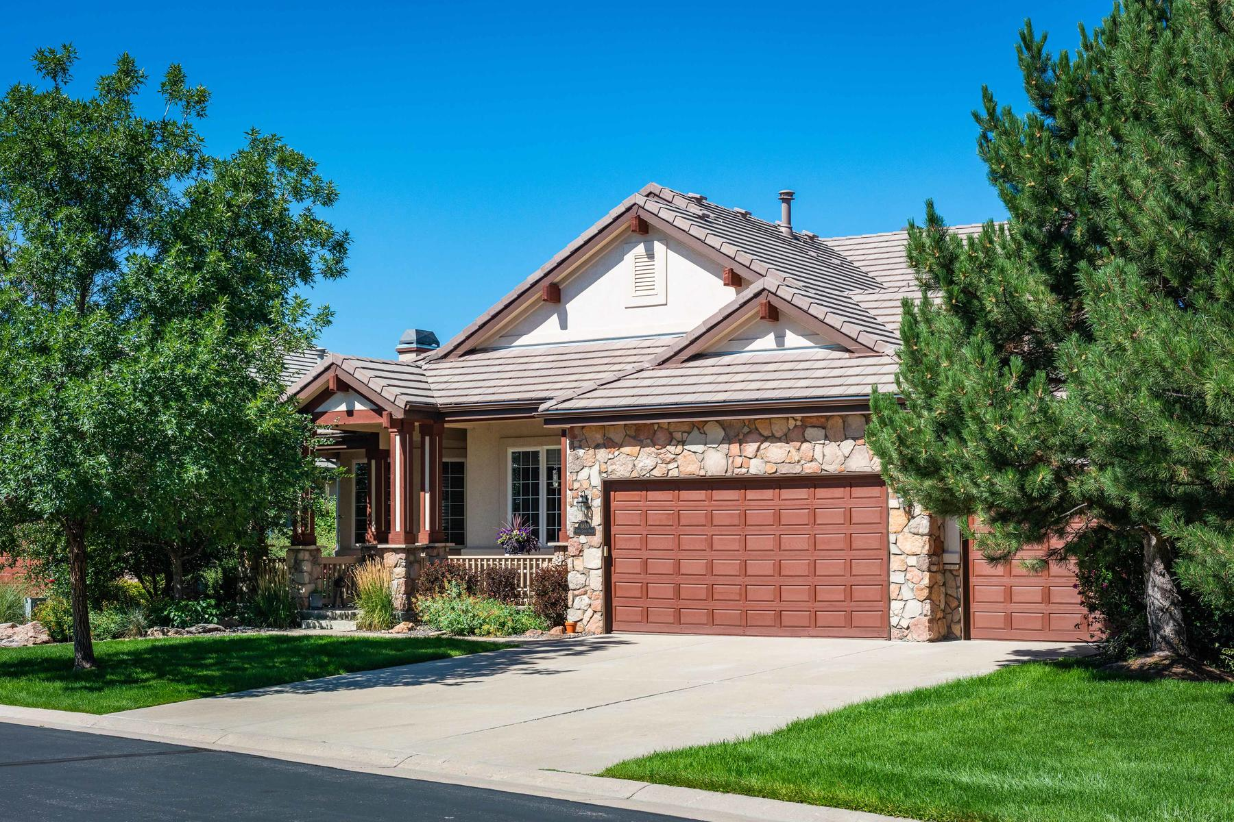 Single Family Home for Active at One of the best view lots in Daniels Ridge! 6850 Vista Lodge Loop Castle Pines, Colorado 80108 United States