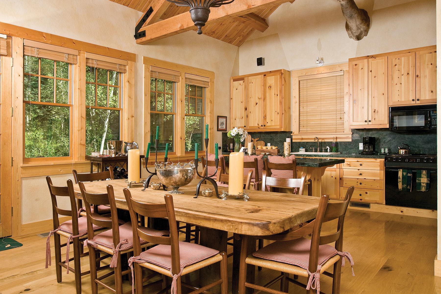 Single Family Homes 为 销售 在 Rare Granite Ridge Homestead 7469 Granite Loop Rd 泰顿乡, 怀俄明州 83025 美国