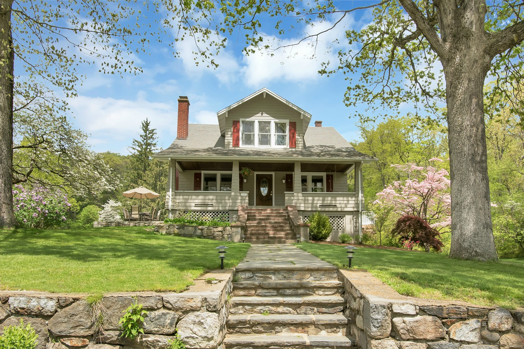 Single Family Home for Sale at Arts and Crafts Mini Estate 22 Jack Road Cortlandt Manor, New York 10567 United States