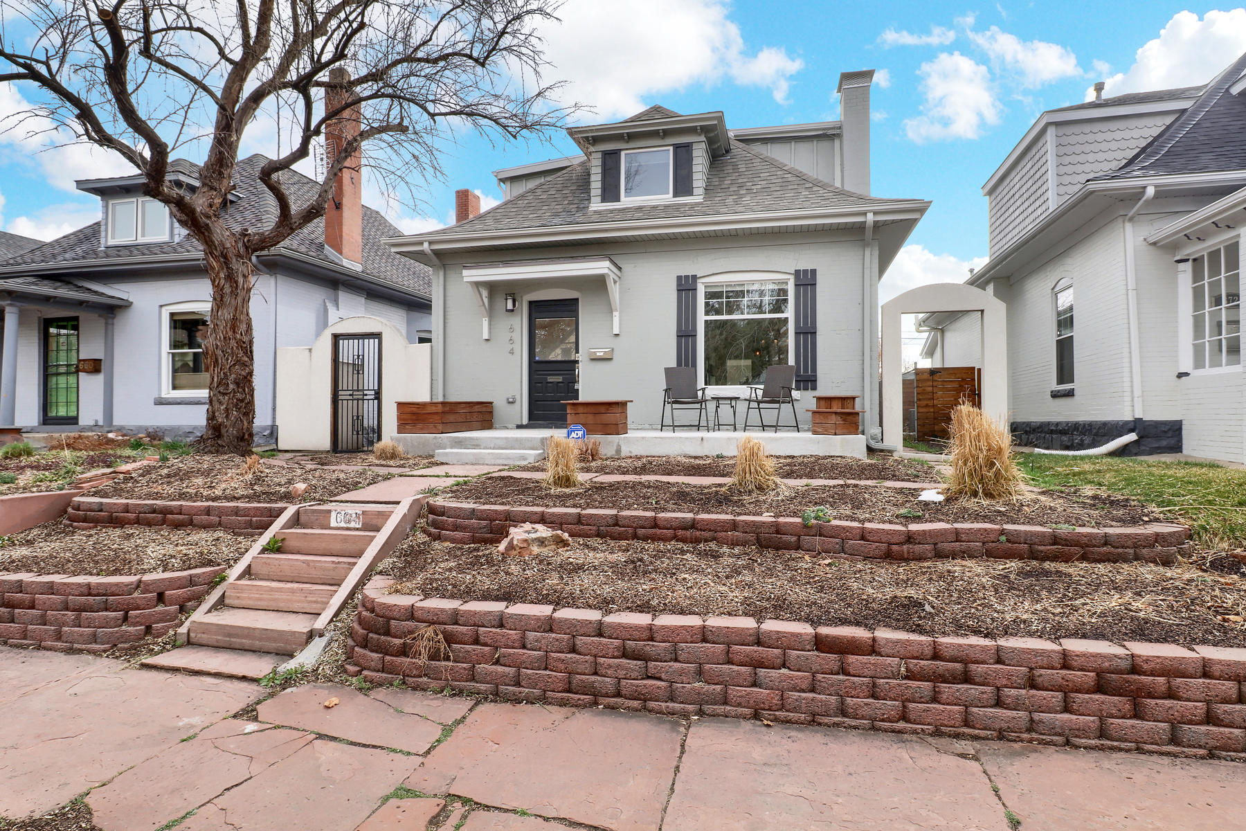 Single Family Home for Rent at Charming Bungalow In West Wash Park 664 South Grant Street Denver, Colorado 80209 United States