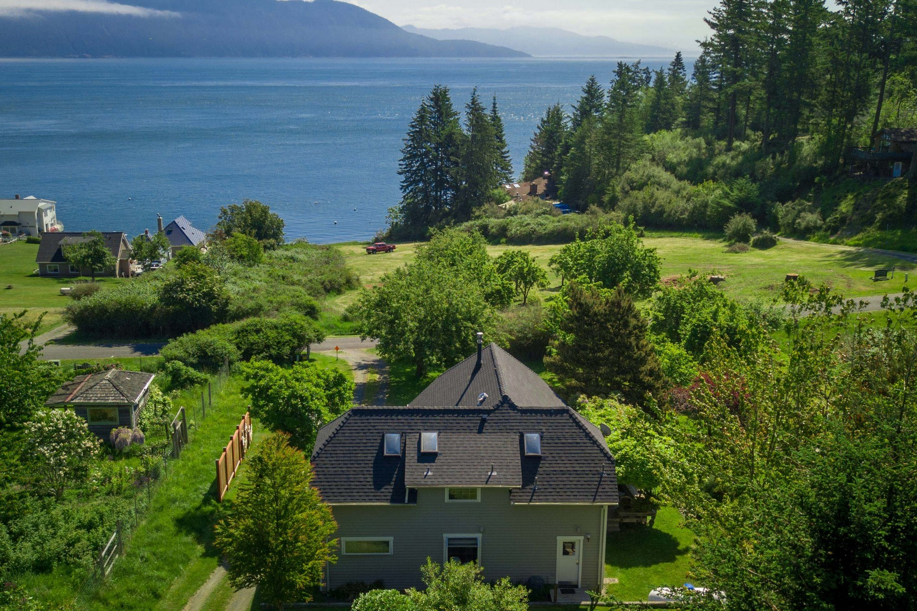 Single Family Homes for Sale at Northwest Garden Cottage on Orcas Island, WA 60 Seacliff Trail Olga, Washington 98279 United States