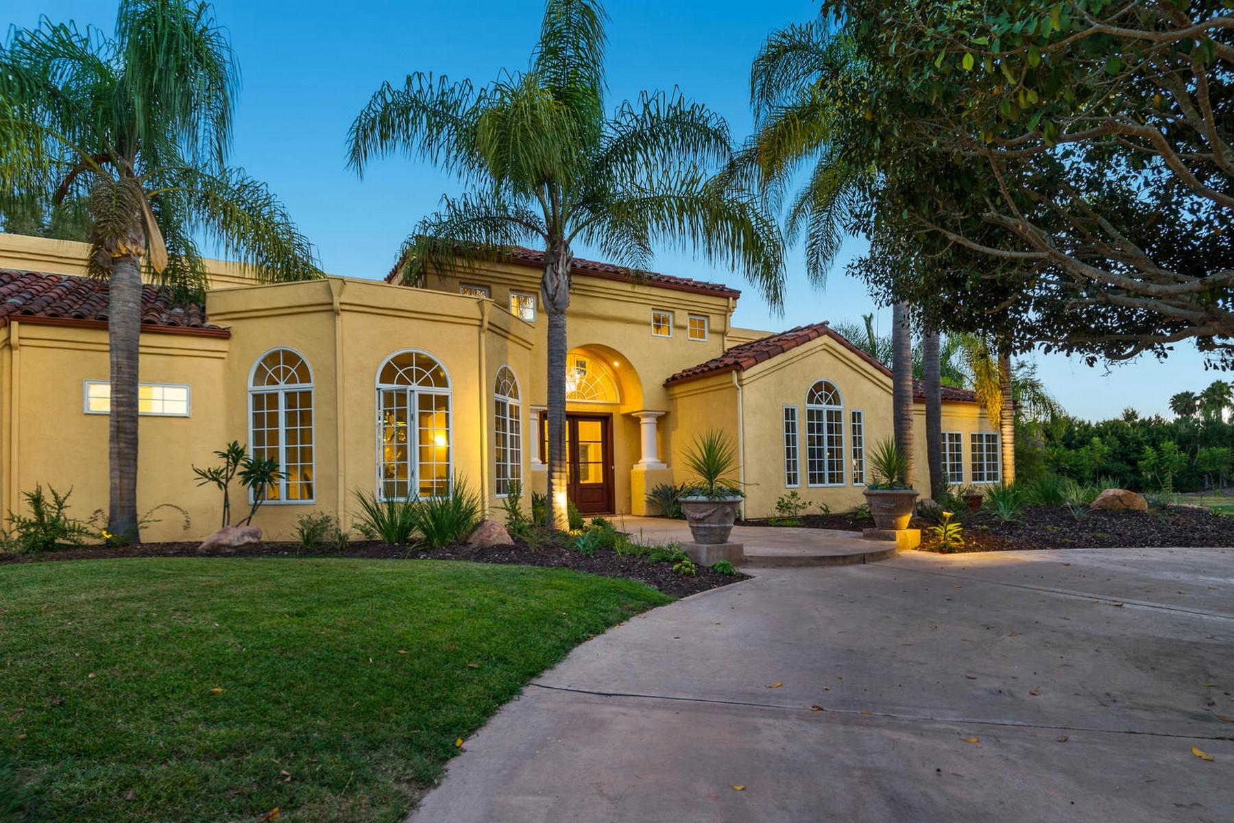 Moradia para Venda às 14955 Rancho Santa Fe Farms Road Rancho Santa Fe, Califórnia, 92067 Estados Unidos