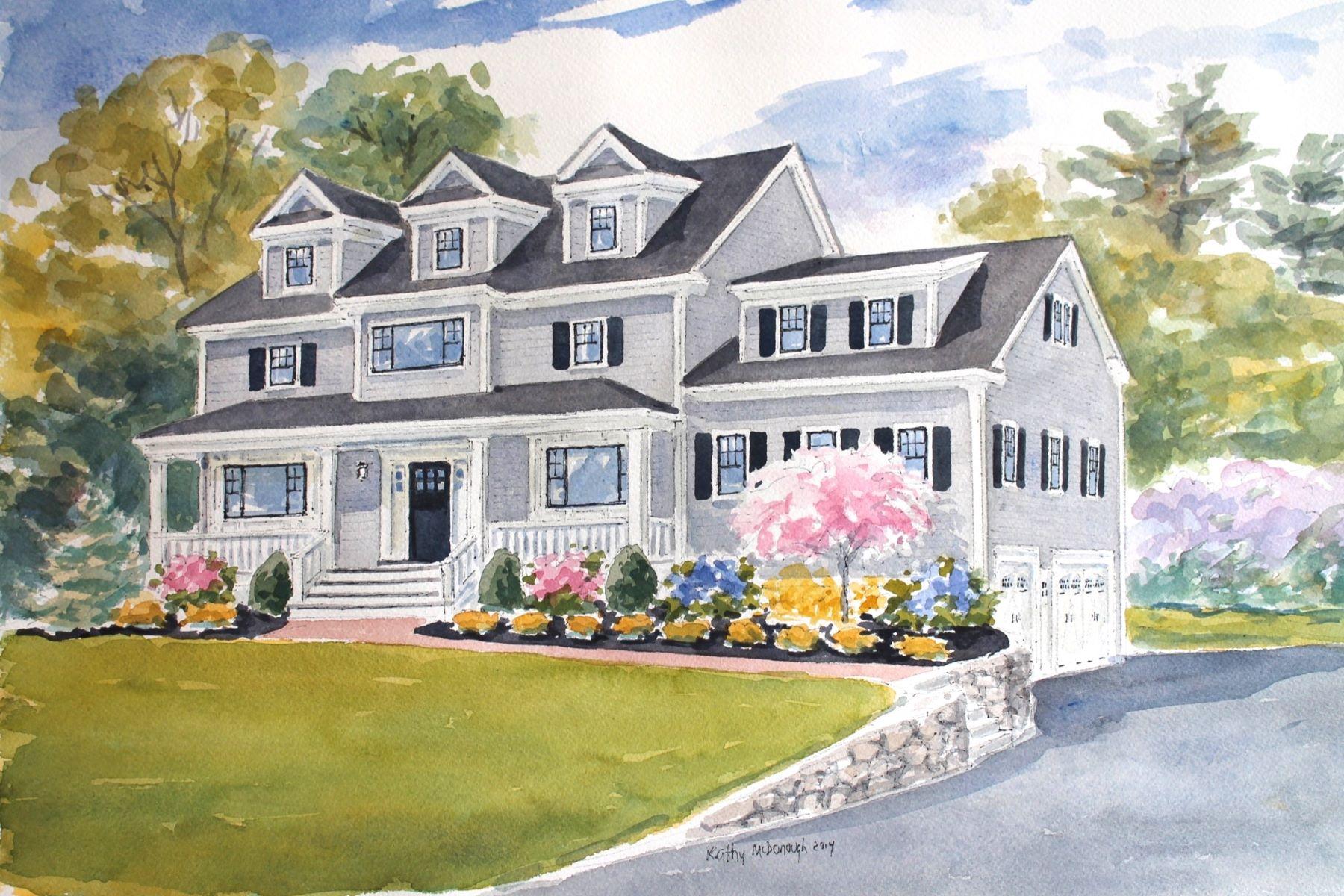 Casa para uma família para Venda às New Construction 17 Whipple Road Lexington, Massachusetts, 02420 Estados Unidos