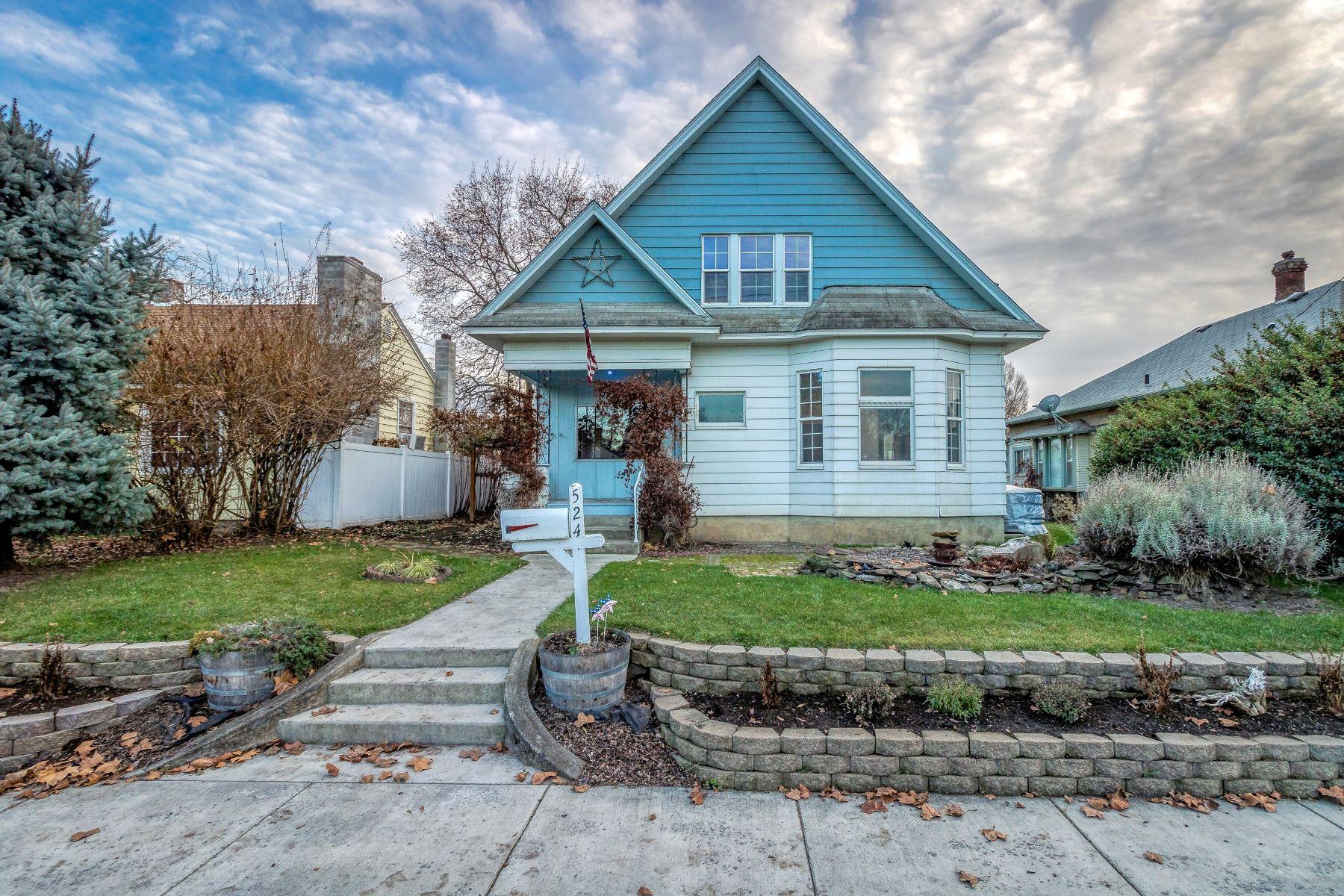 Single Family Homes for Sale at 524 E. Chestnut St 524 E Chestnut St Walla Walla, Washington 99362 United States