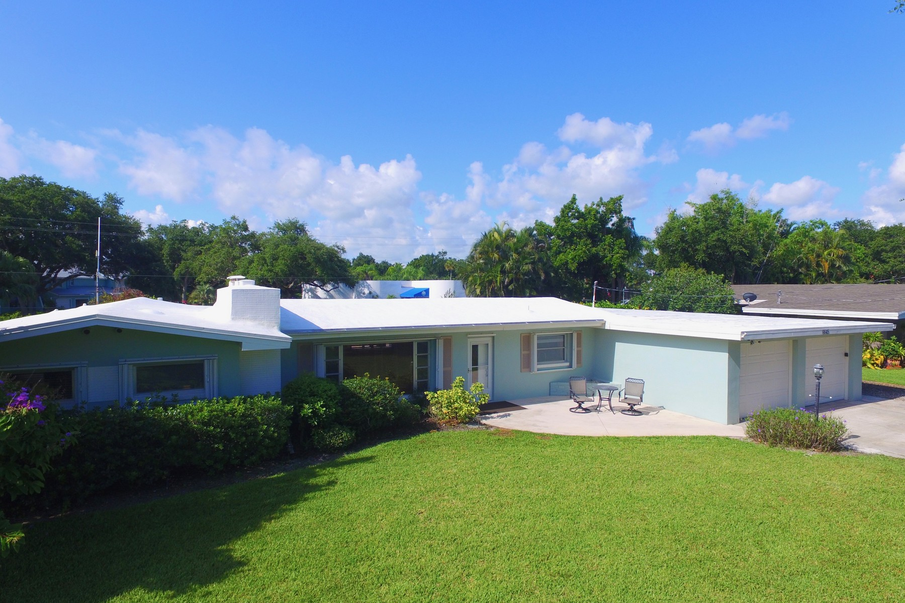 Single Family Homes for Sale at Newly Renovated with Beachy Chic Style! 6645 110th Street Sebastian, Florida 32958 United States