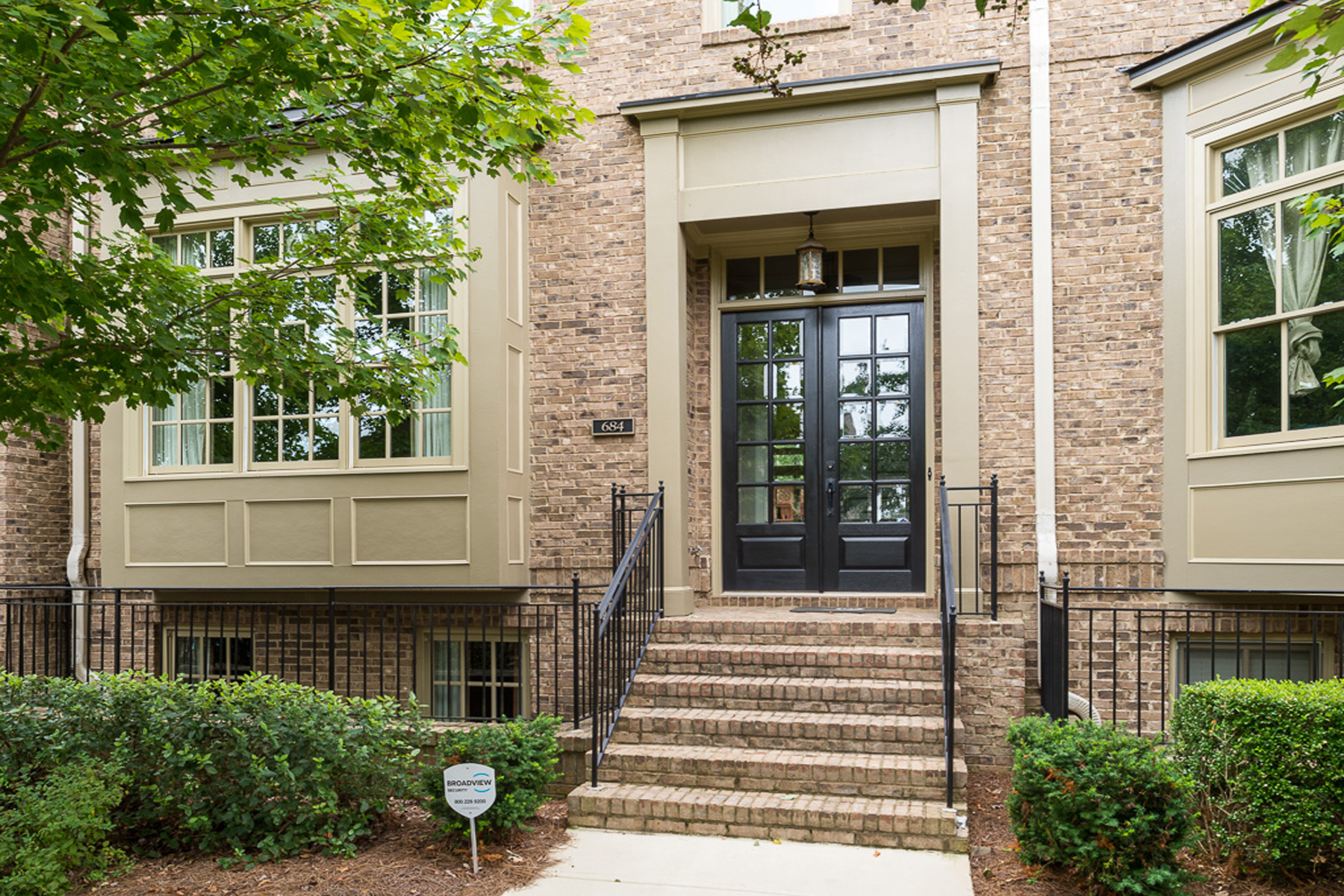 Townhouse for Rent at Gorgeous Four-Bedroom Townhome 684 Lockton Place Atlanta, Georgia 30342 United States