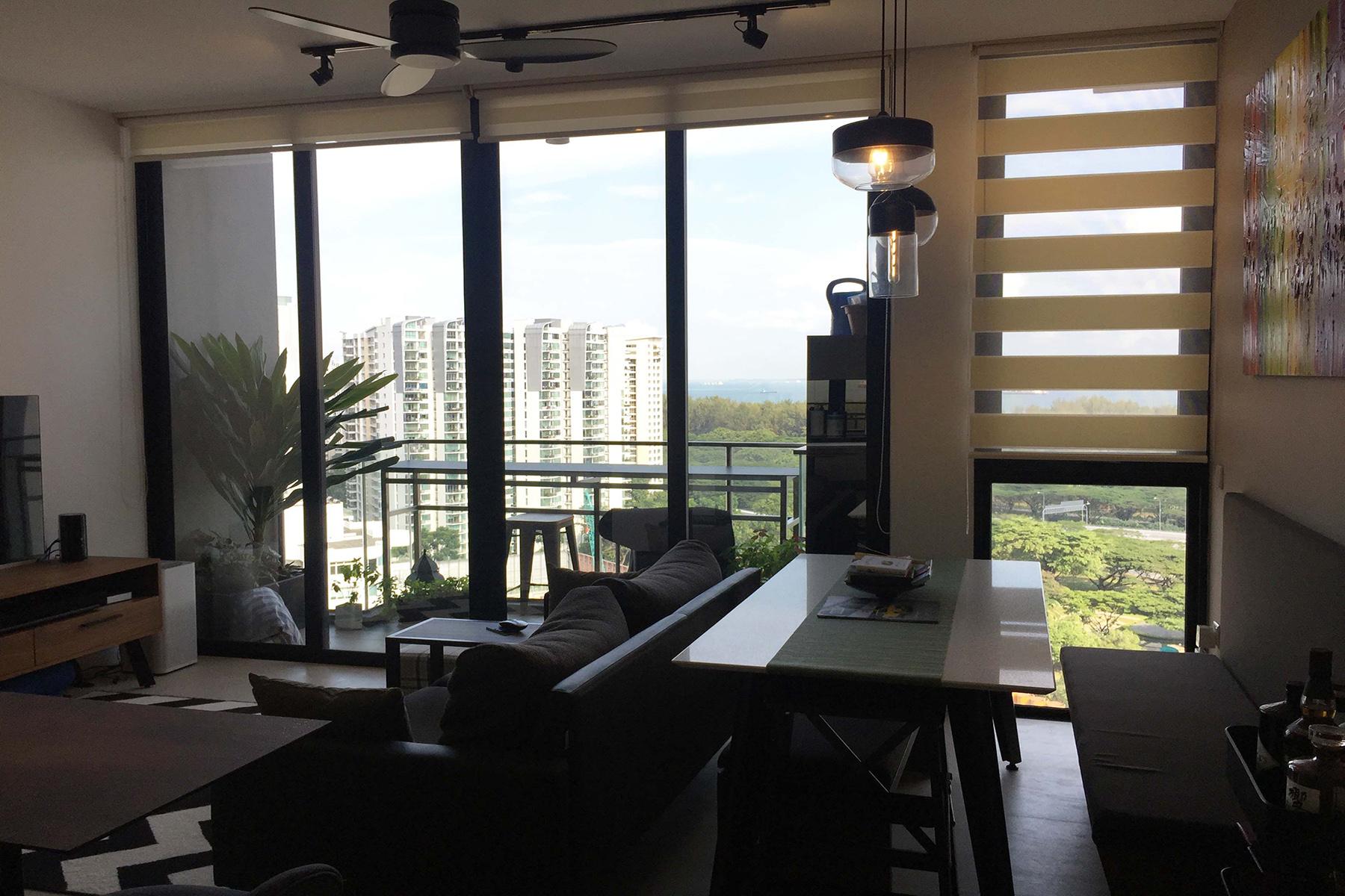 Apartamento por un Alquiler en FULCRUM 33 Fort Road Fulcrum Singapore, 439092 Singapur