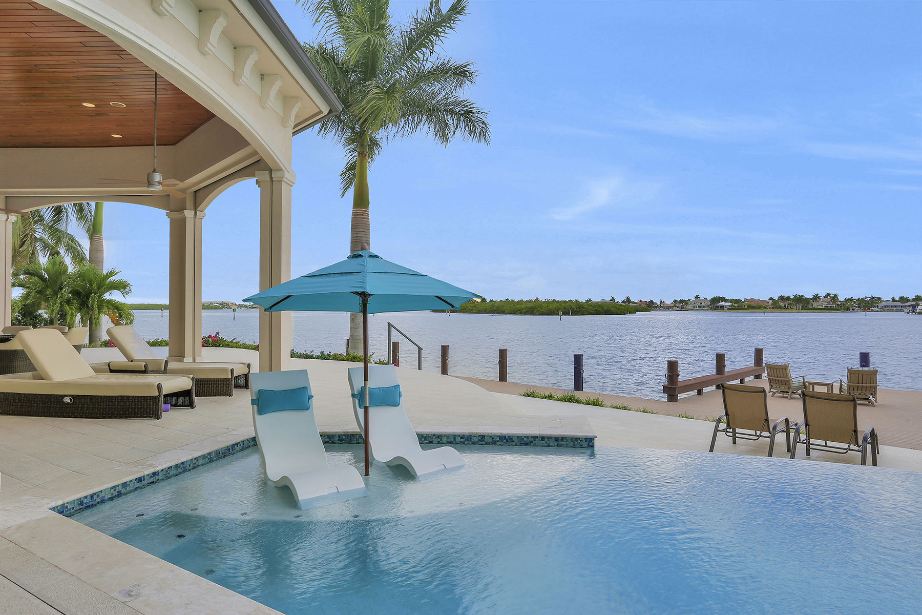 Single Family Homes for Sale at MARCO ISLAND 495 Maunder Court Marco Island, Florida 34145 United States