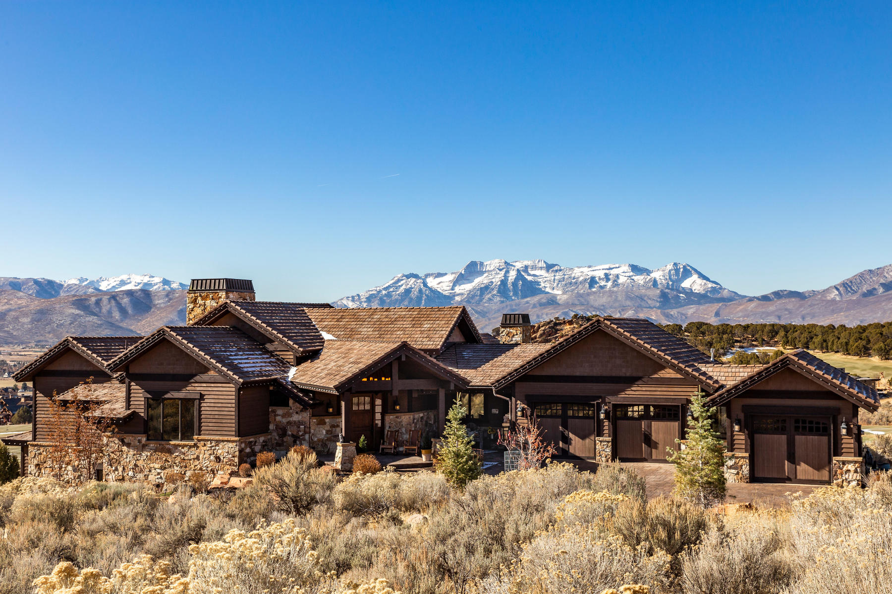 Single Family Homes for Active at Exceptional Unobstructed Golf Course To Mountain Views 2910 E Brown Duck Mountain Cir Heber, Utah 84032 United States