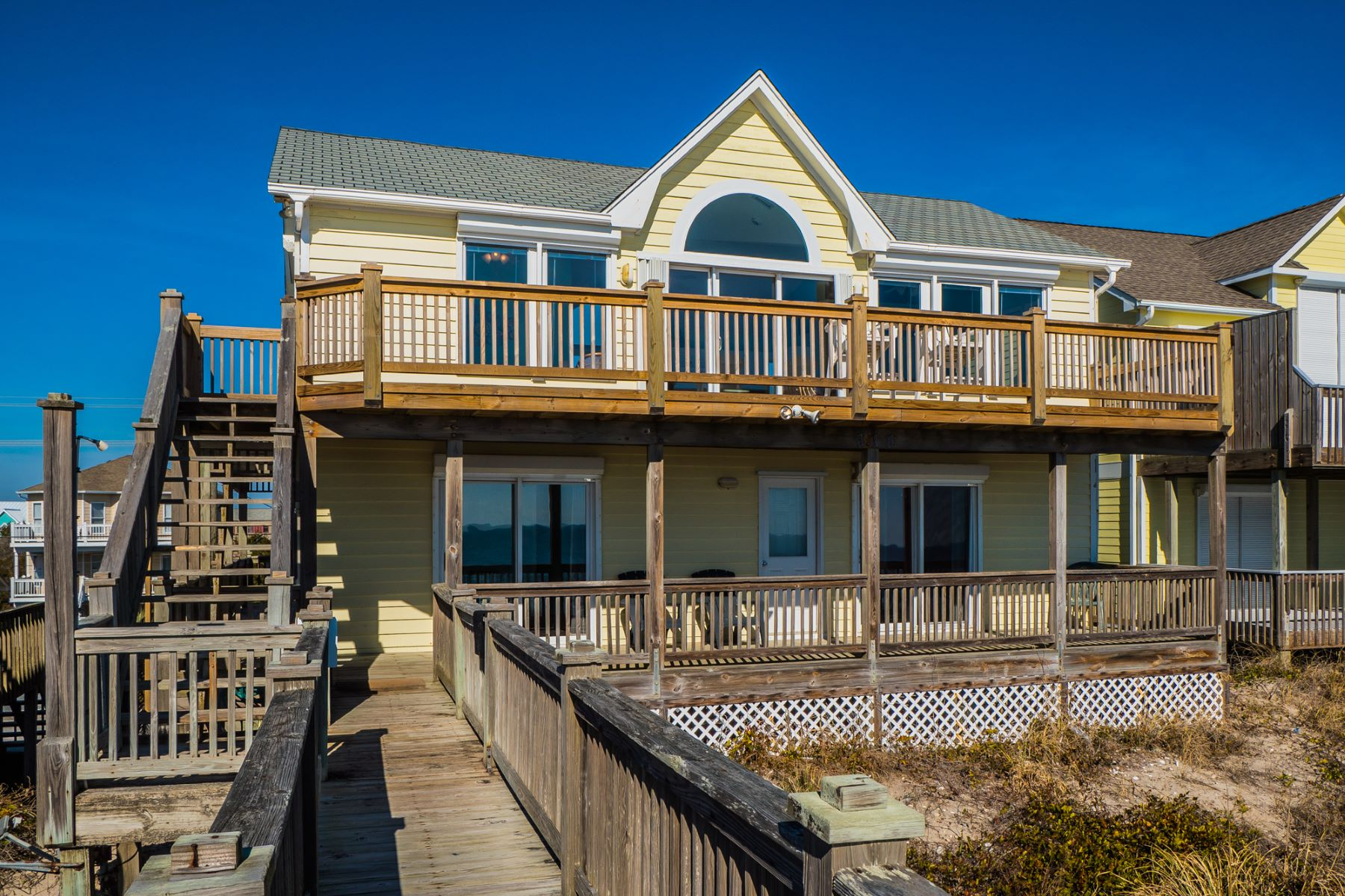 Single Family Home for Sale at Recently Renovated Oceanfront Cottage 815 N Anderson Blvd, Topsail Beach, North Carolina, 28445 United States