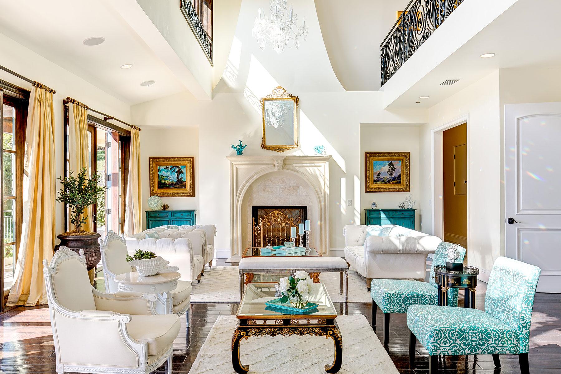 단독 가정 주택 용 매매 에 2095 Temple Hills Laguna Beach, 캘리포니아, 92651 미국