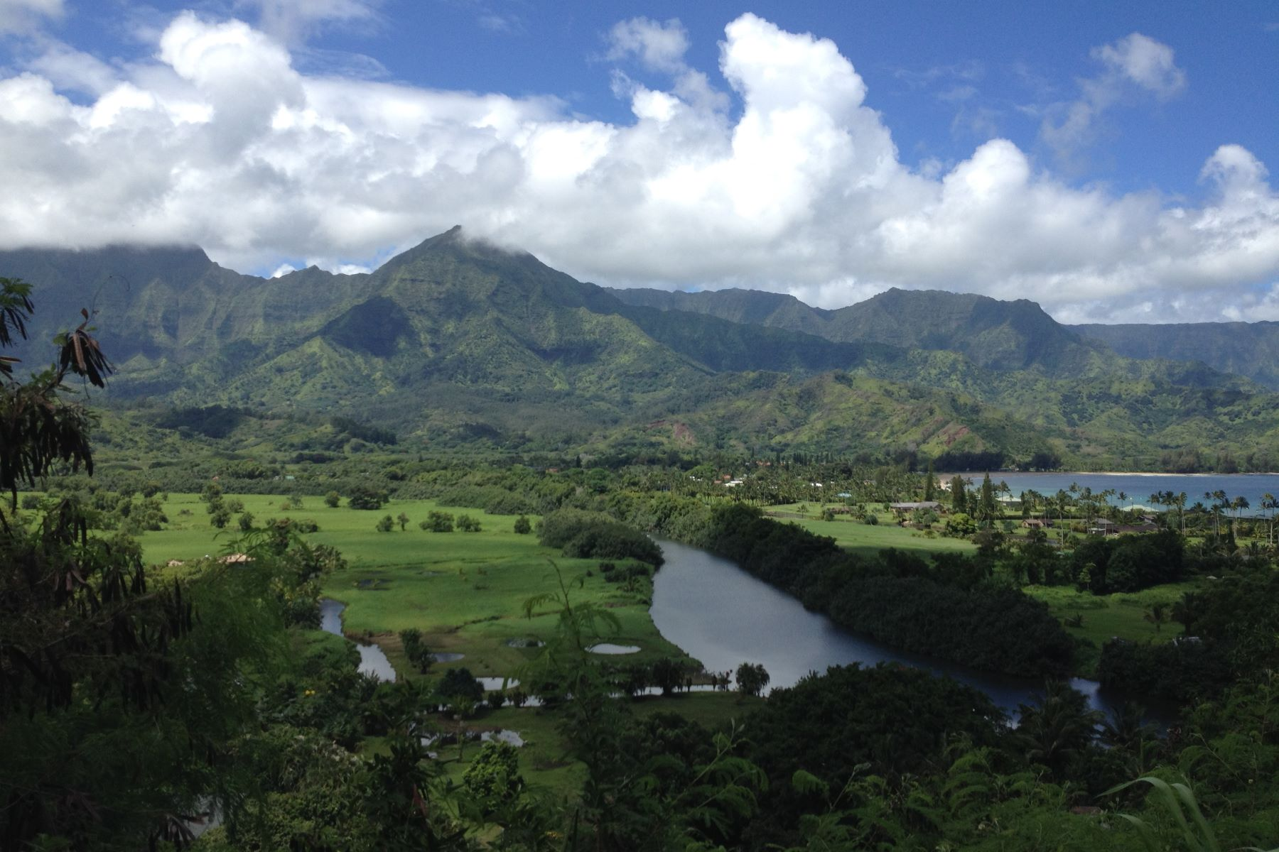 Additional photo for property listing at Amazing Views 5211 Hanalei Road Hanalei, Hawaii 96714 United States
