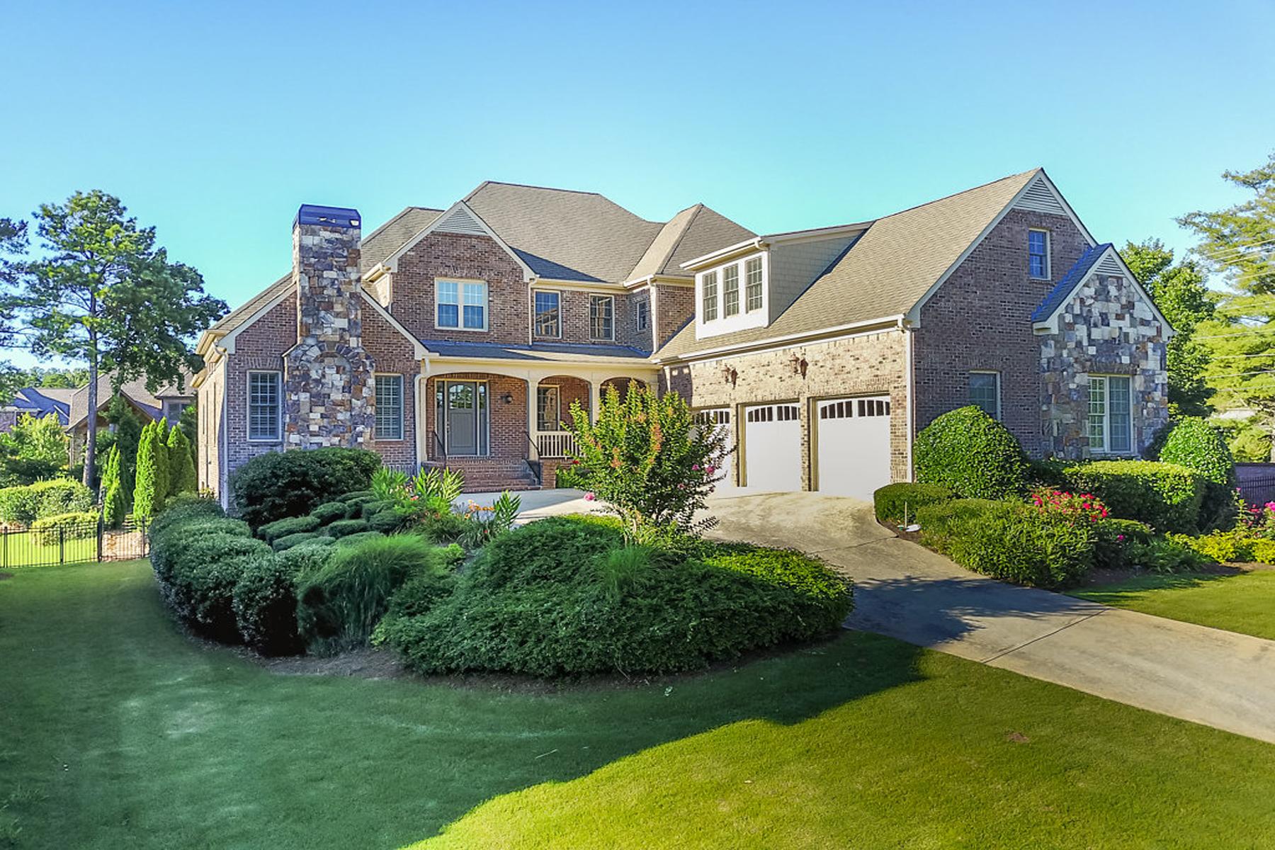 Casa Unifamiliar por un Venta en Luxury Living At Its Finest 3043 Tuscany Park Drive Marietta, Georgia, 30068 Estados Unidos
